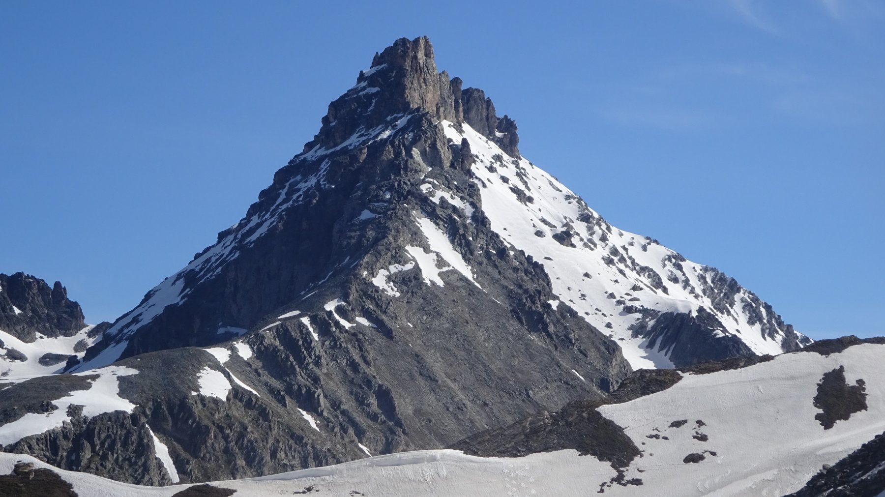 la Rognosa d'Etiache 3.387 m