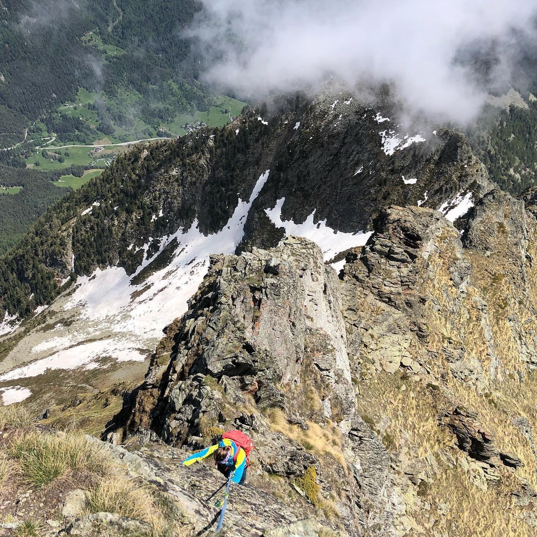 Zerbion (Monte) Cresta SE, Via delle Roccette 2020-05-24