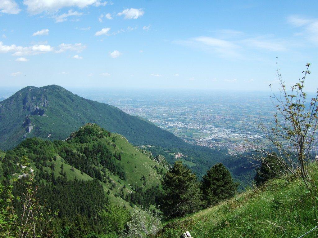 Priaforà (Monte) dall'Altopiano del Tretto al Priaforà 2020-05-25