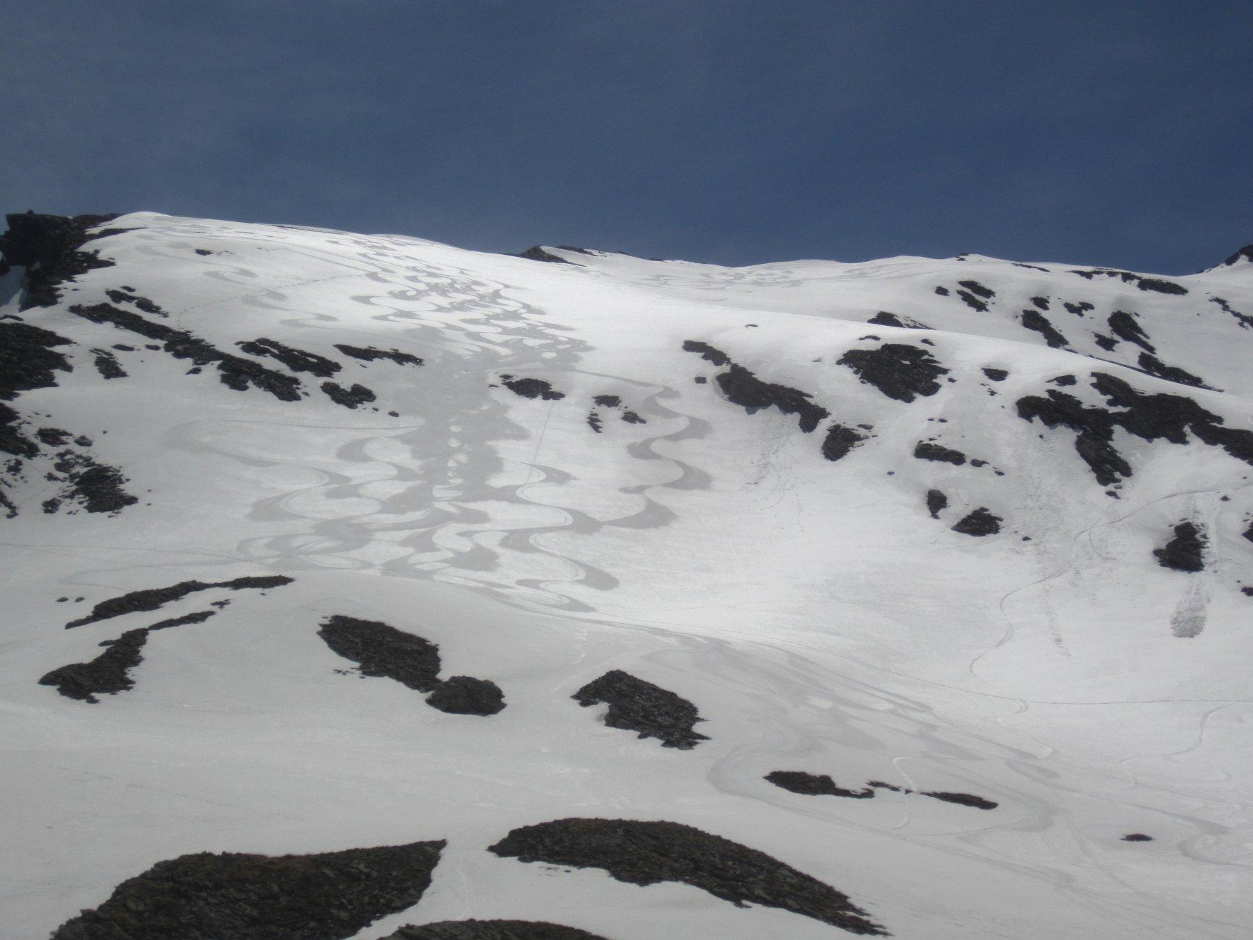 Roudel (Cima) dalla Valle Argentera per la Valle Lunga 2020-05-25