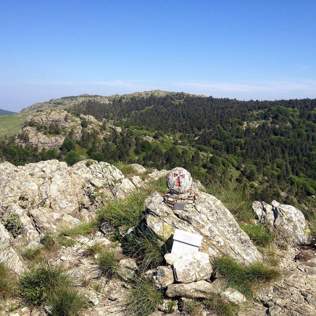 Dalla cima Fontanaccia il Bric Damè