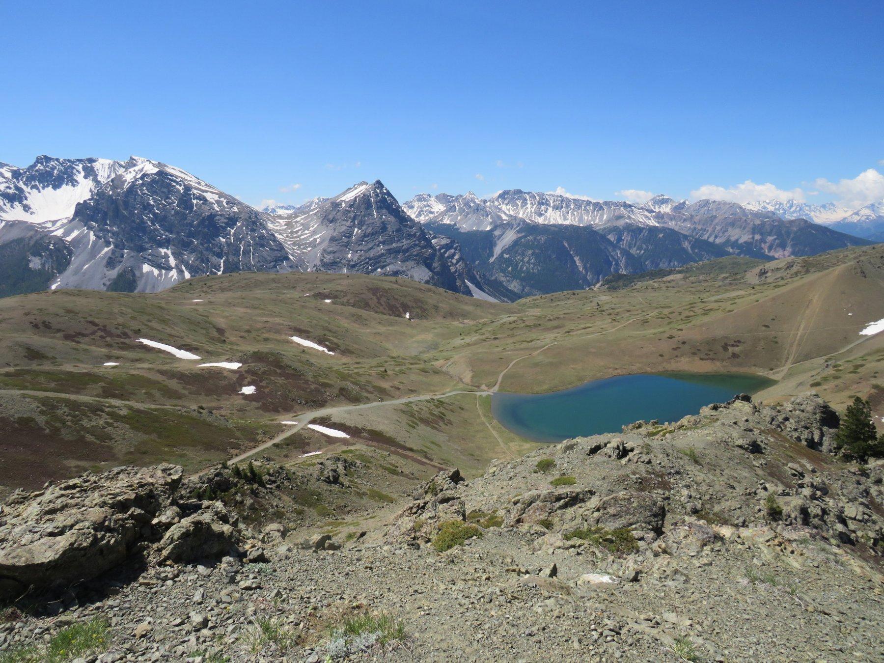 Lac Gignoux da cima Saurel