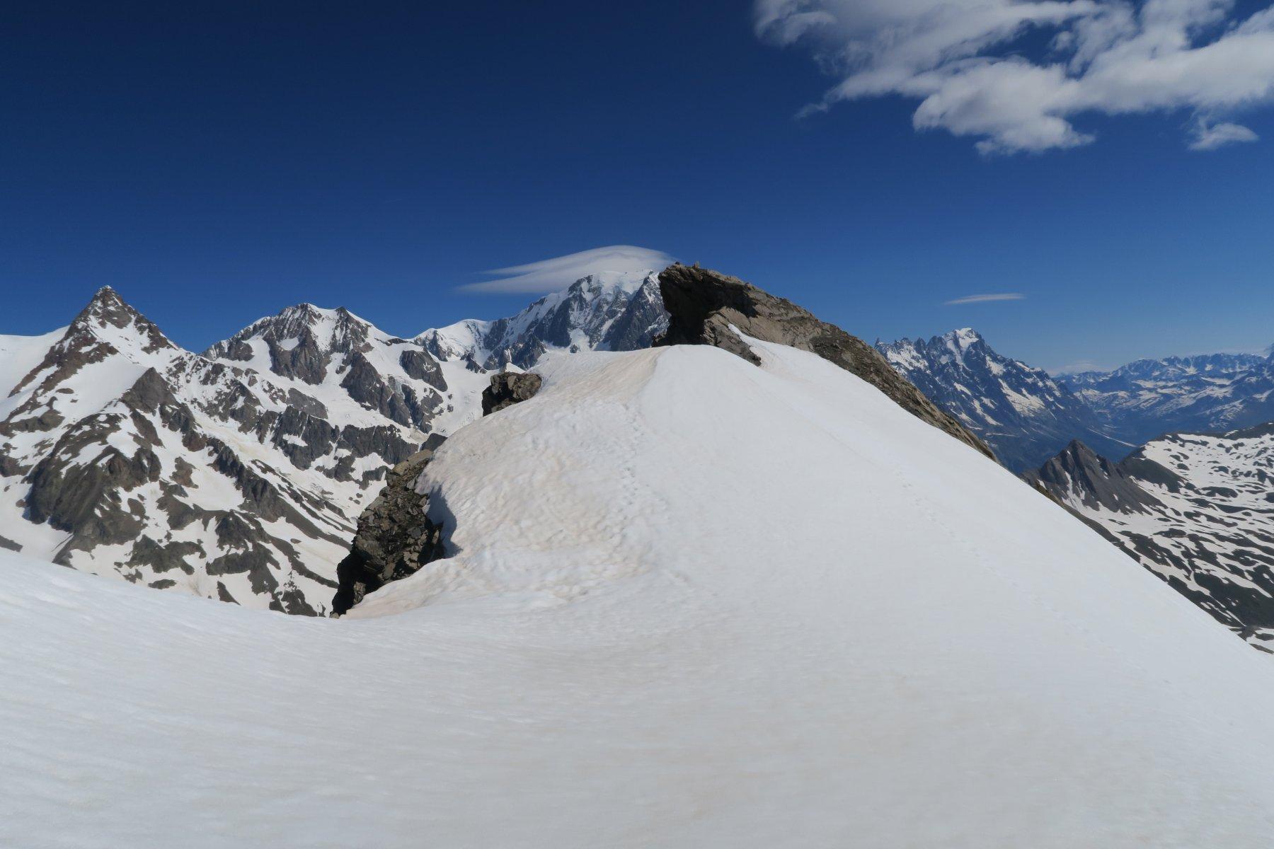 la cima della Lechaud