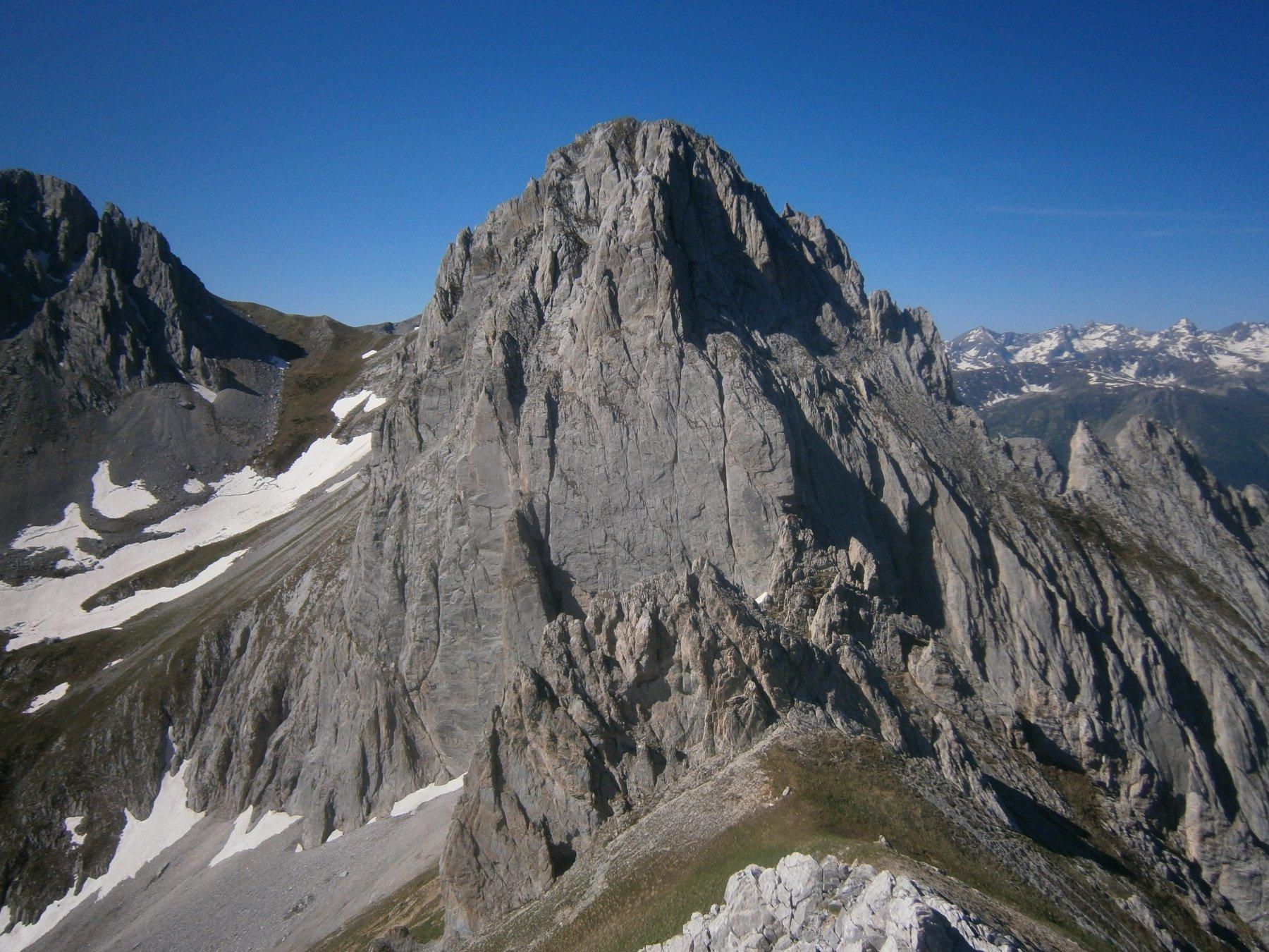 rocca di Salè dalla rocca del Mes