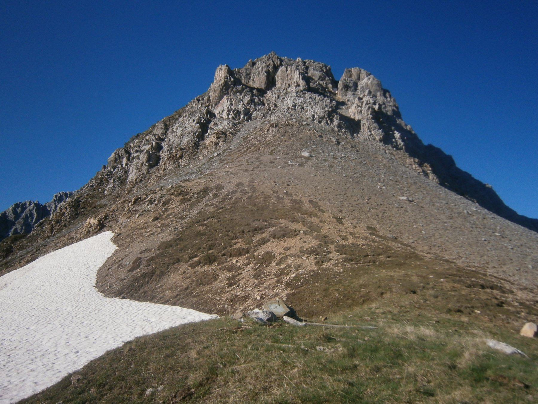 Rocca del Mes dal colle Salè