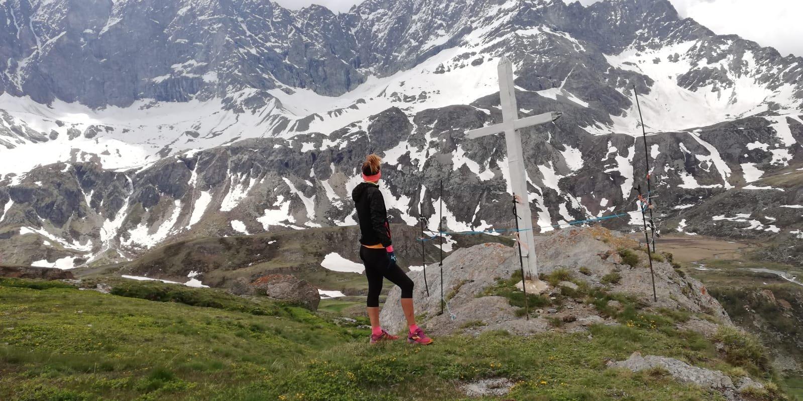 Croce all'alpeggio la balme