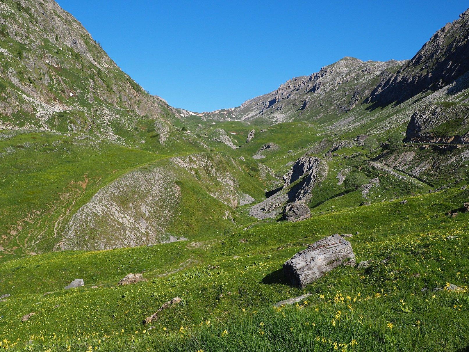 Il Vallone di Cavera.
