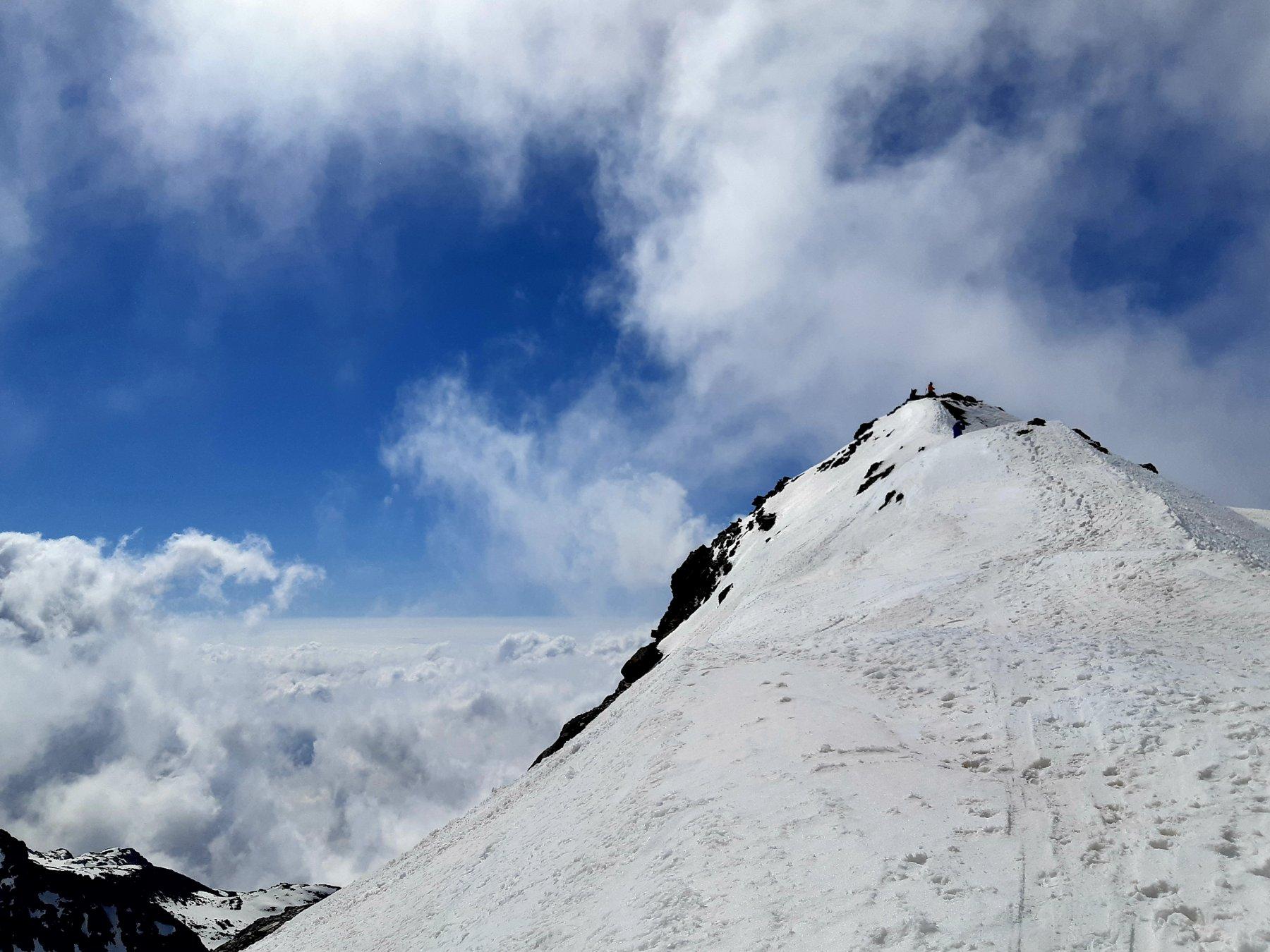 Collerin (Monte) da Pian della Mussa 2020-05-31