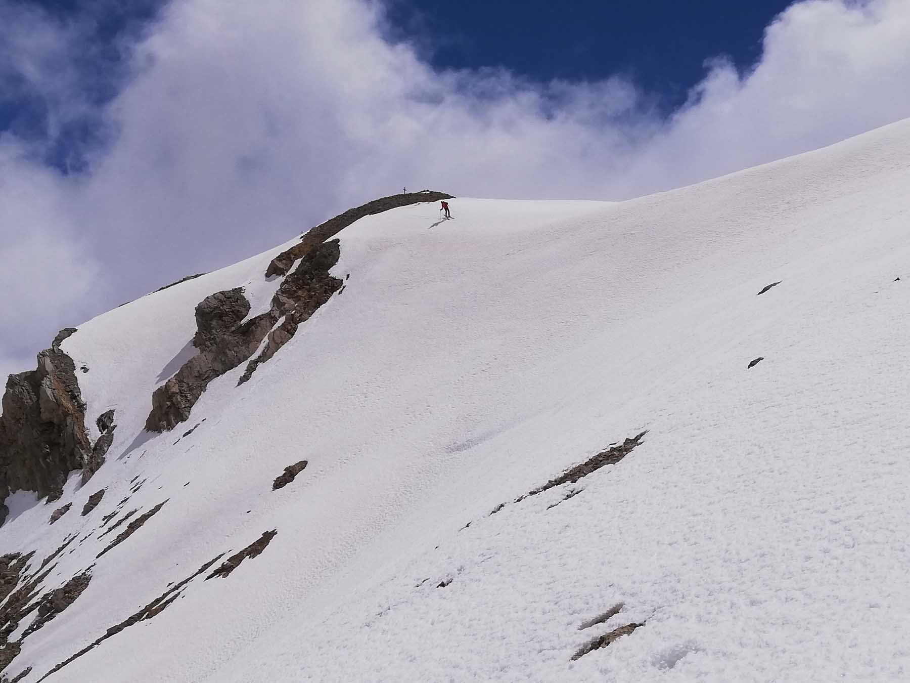 Vallonetto (Cima del) e Truc Peyrous da Grange della Valle 2020-05-31