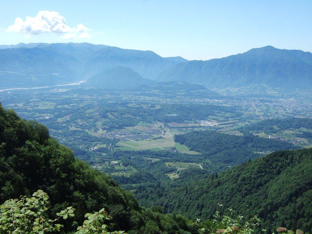verso la Val Belluna