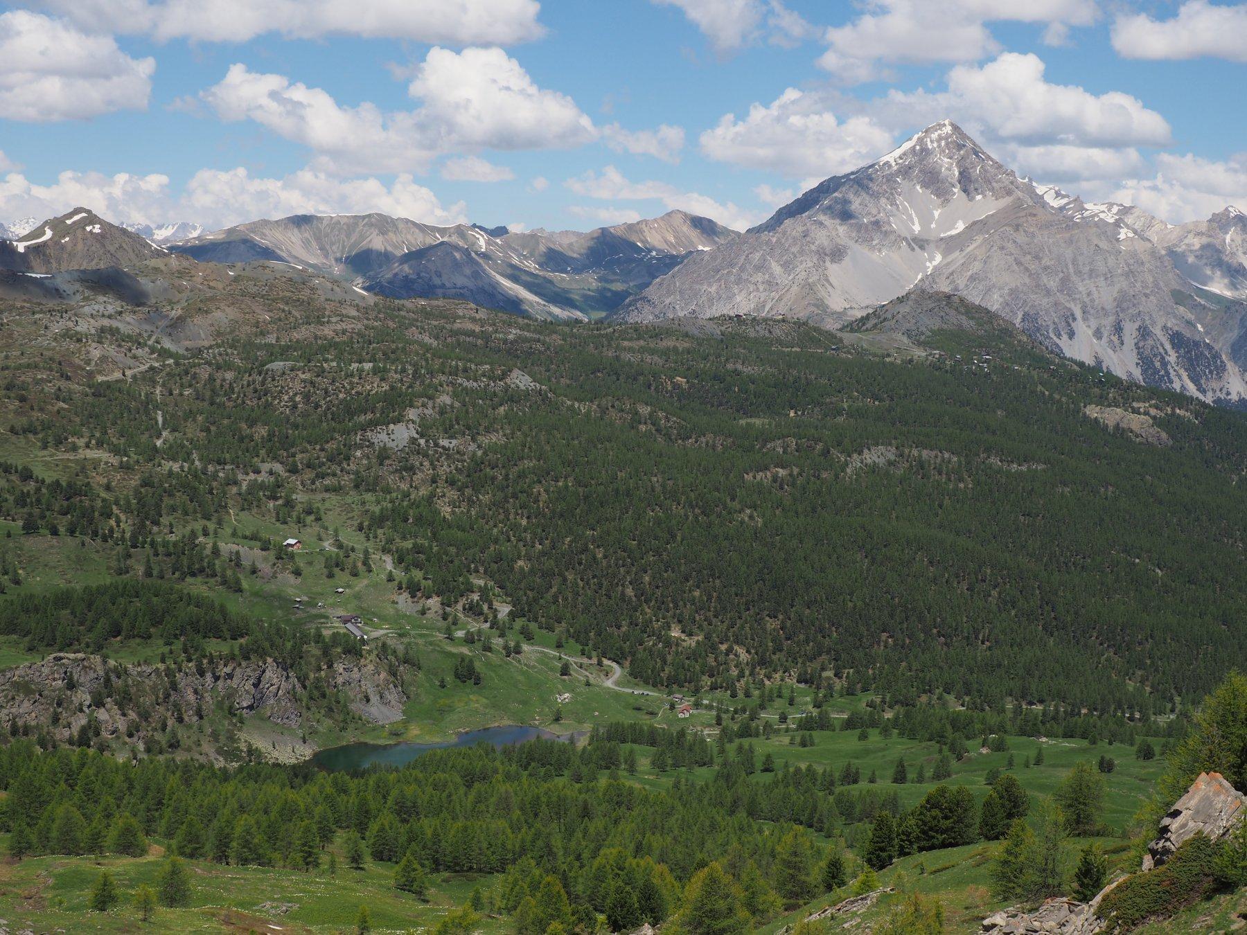 Lago Nero visto da Col Begino