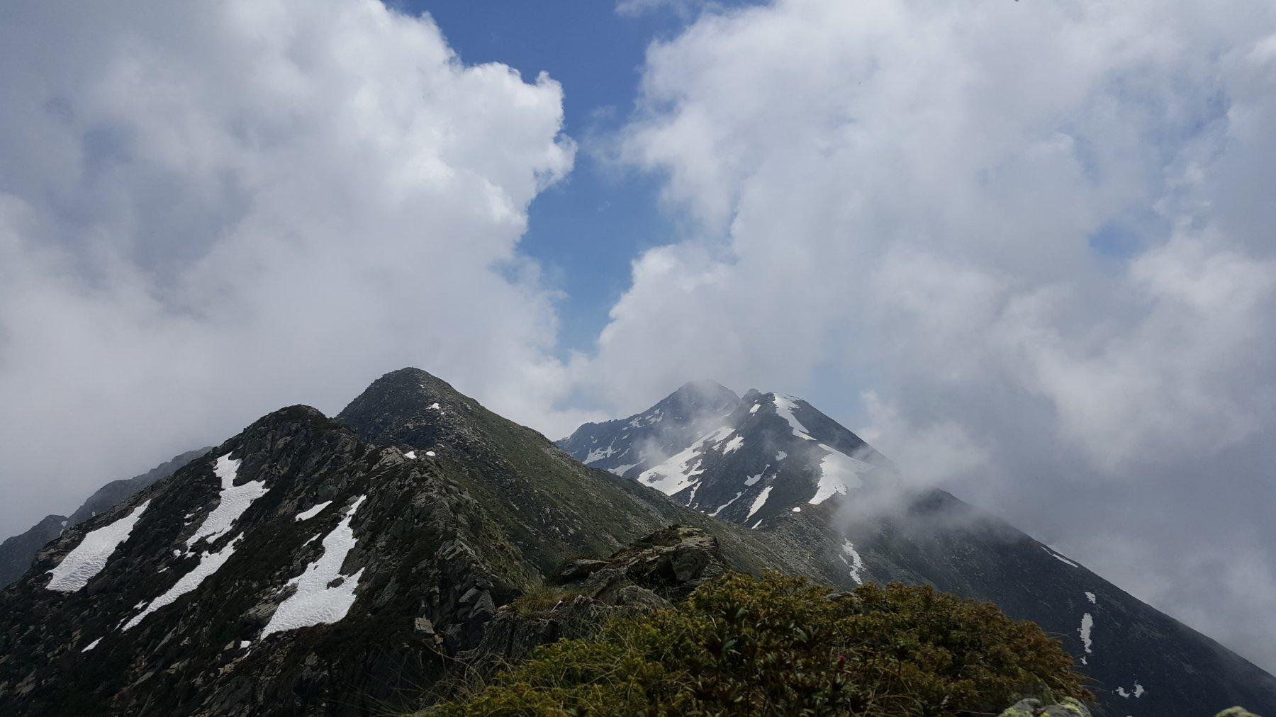 Rama (Punta)Cresta Beltrando, Verzel, Prafourà e Monte Cavallo da Pian delle Nere 2020-06-02