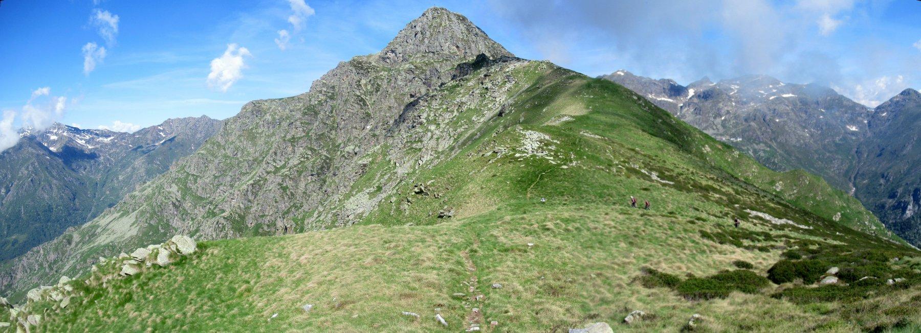 Mucrone e la cresta per il colle del Limbo