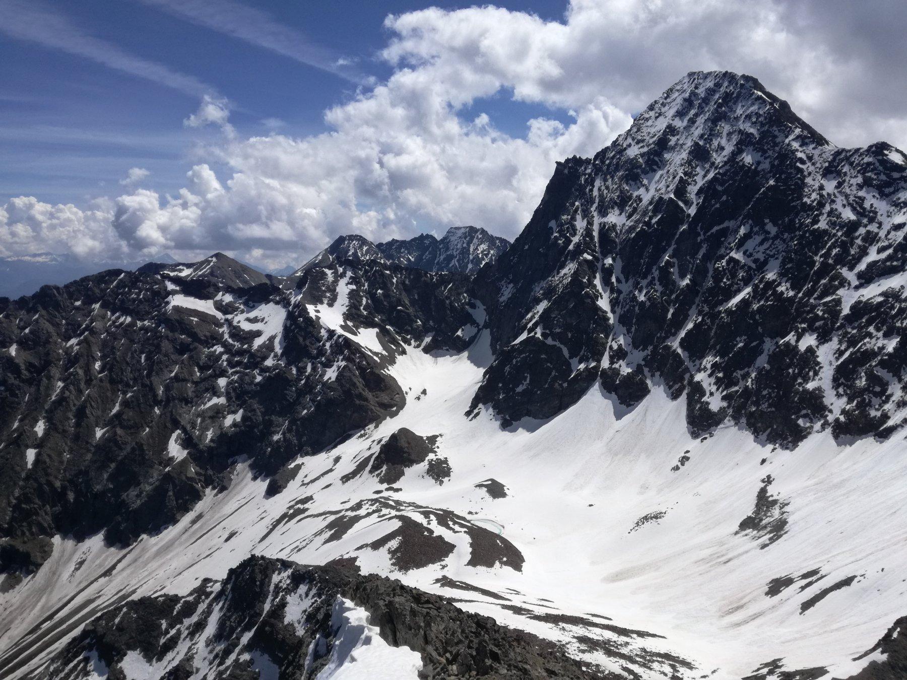 Monte Emilius dalla vetta