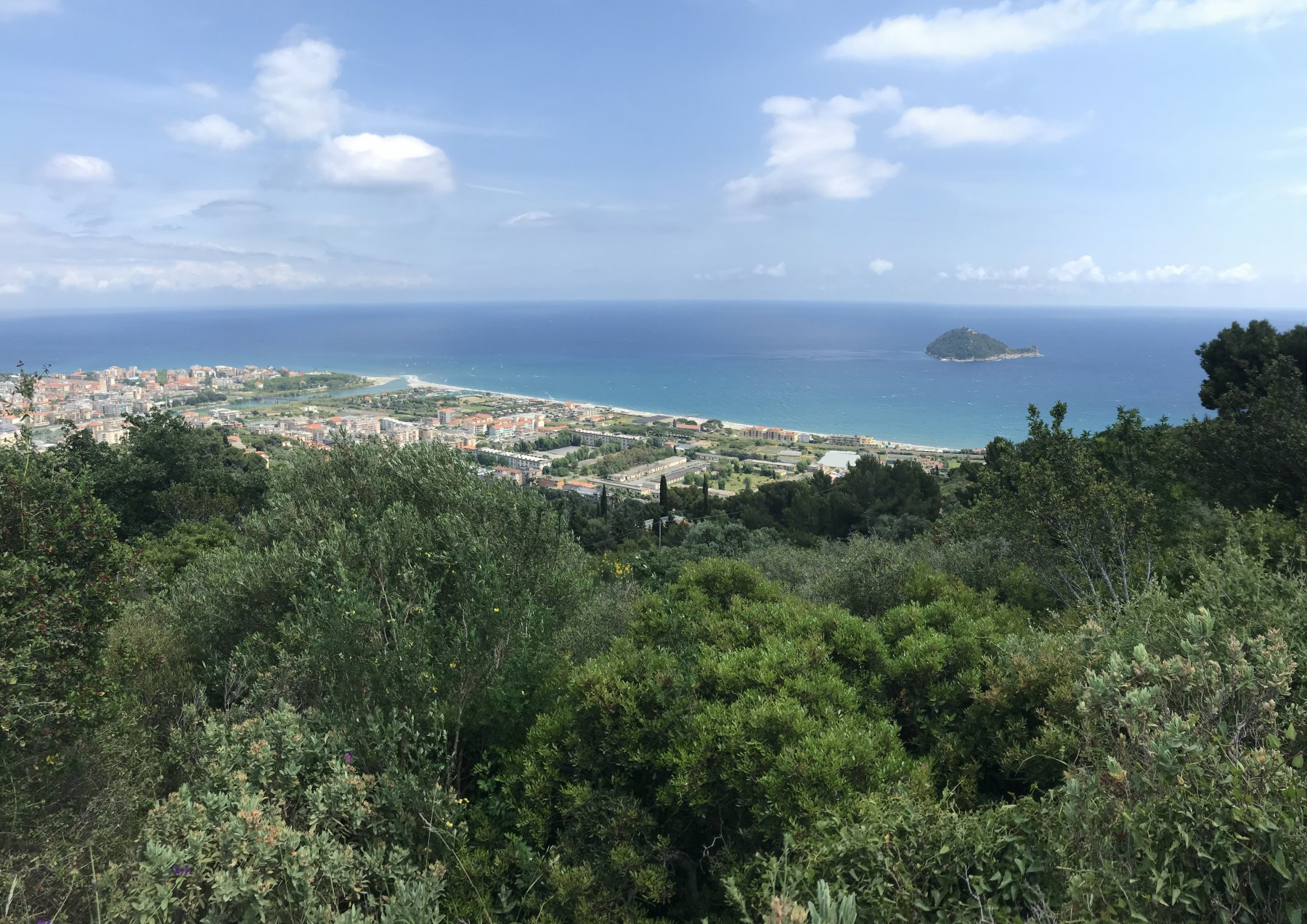 Rientro su Albenga