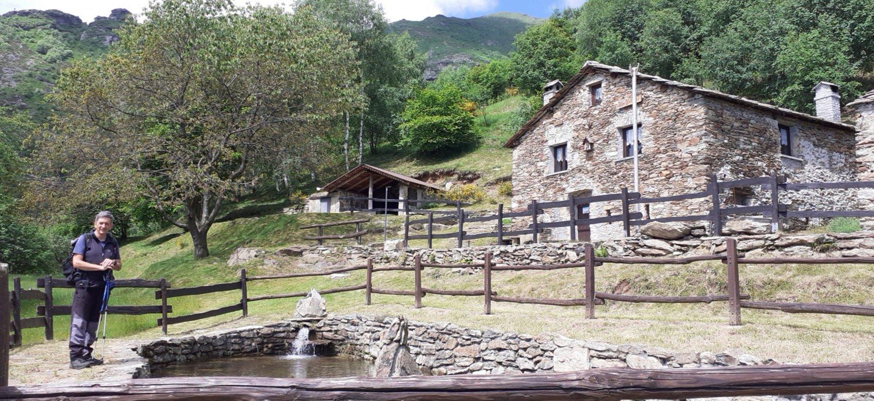 Il rifugio Alpe Bellono