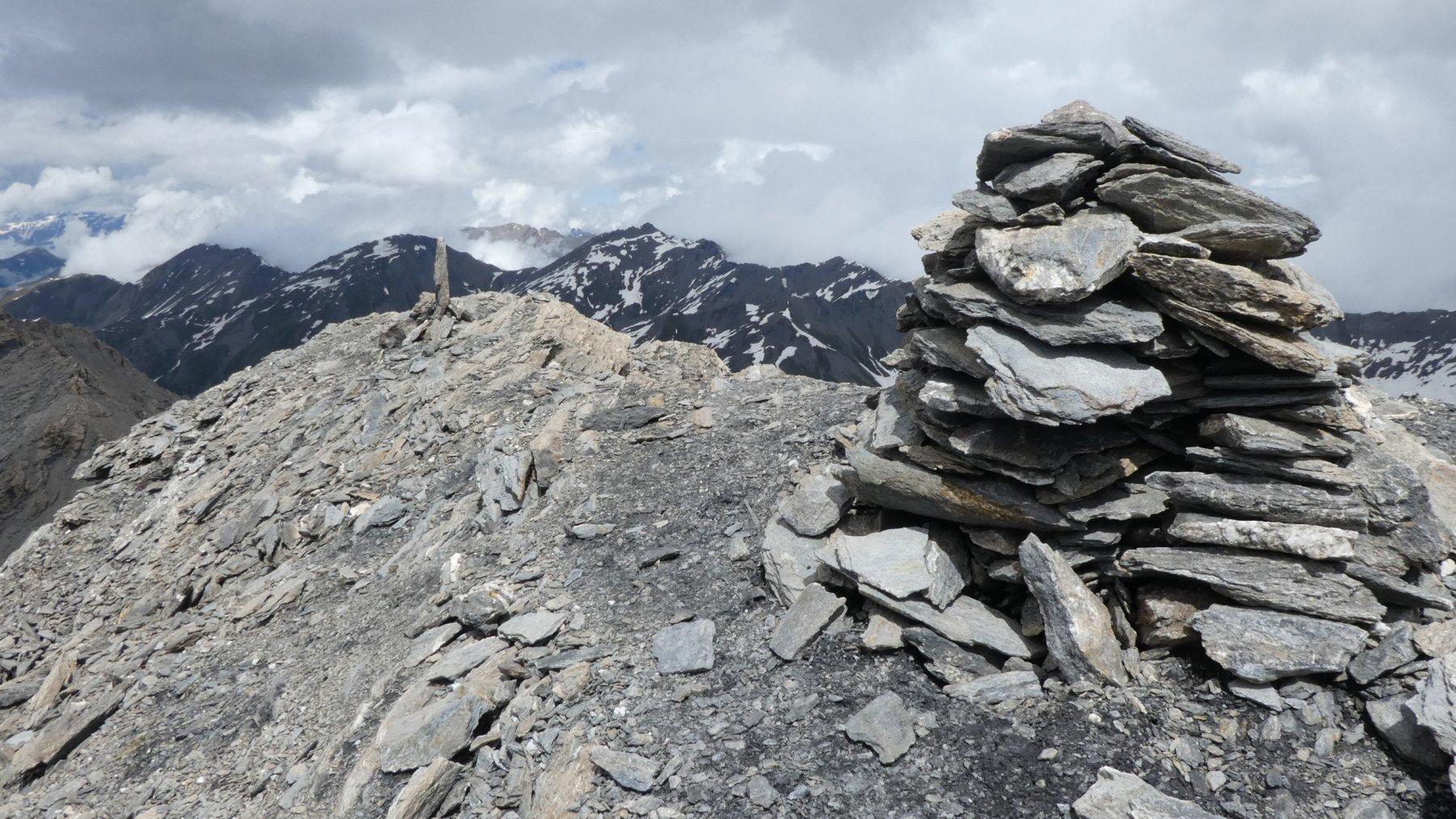 la vetta del Monte Giornalet