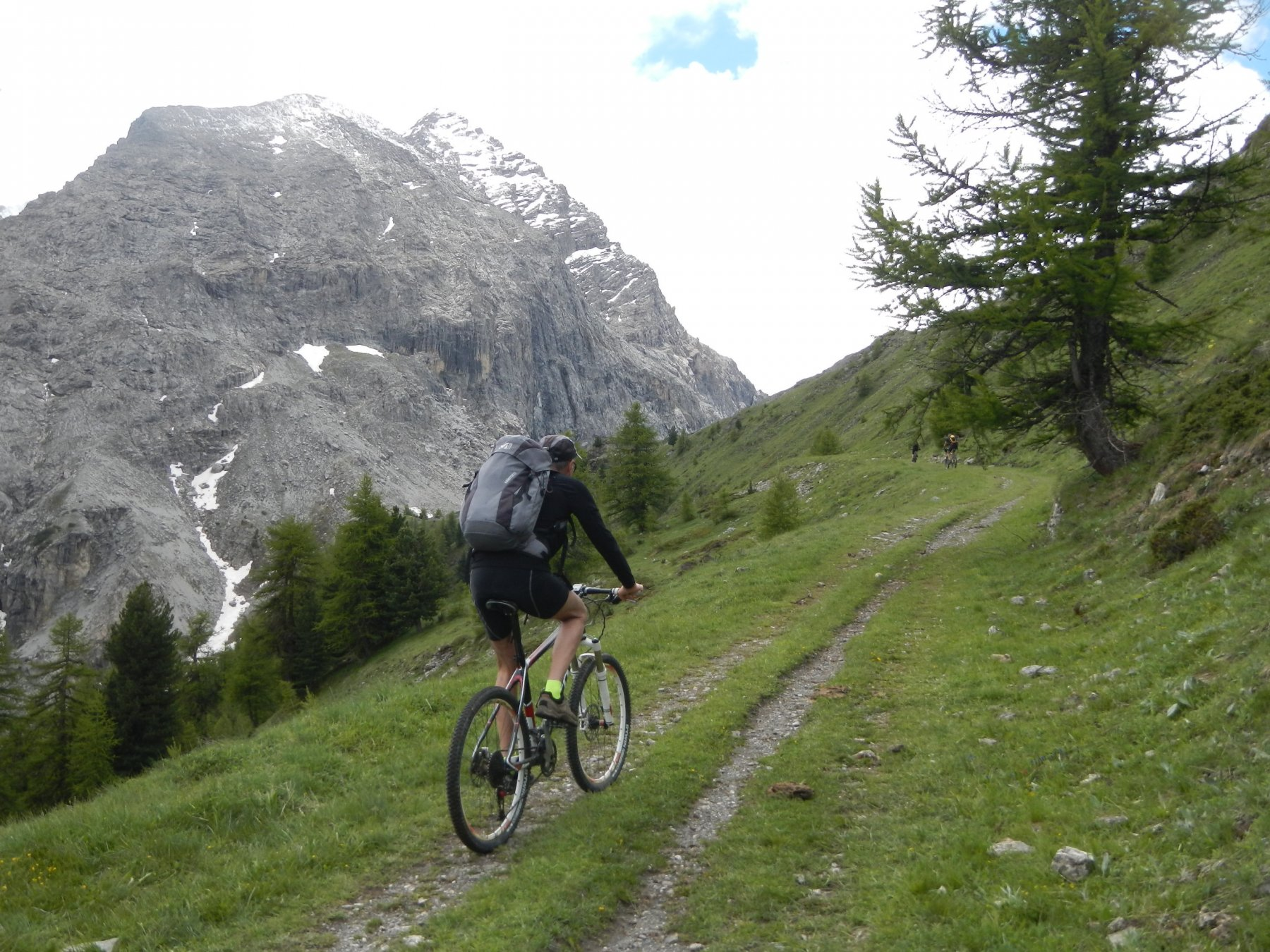 il versante roccioso del Monte Furgon
