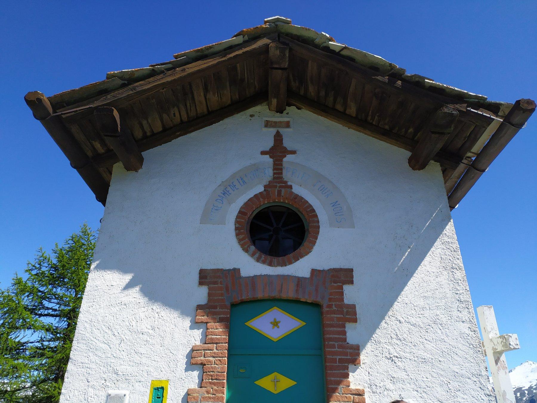 La chiesetta di Madonna del Cotolivier