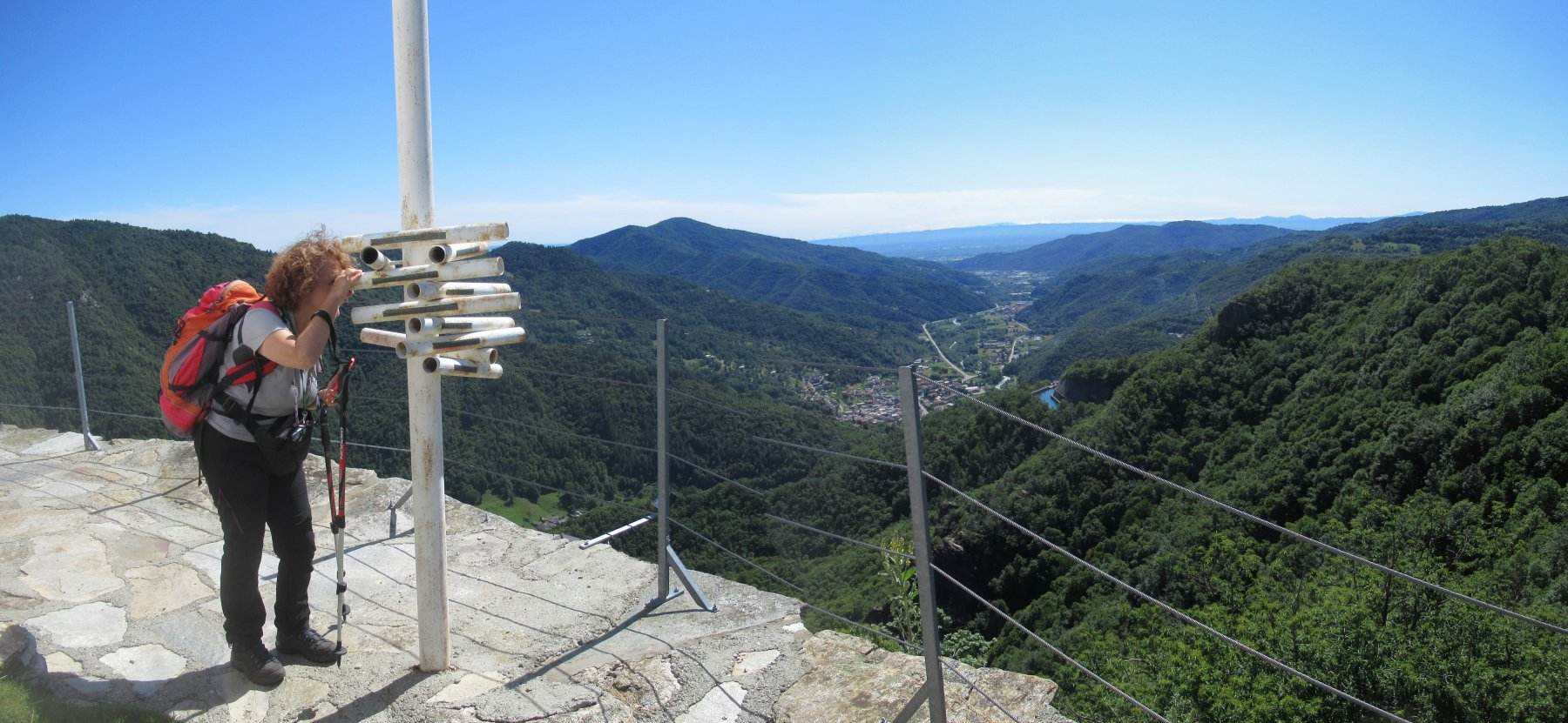 Panorama da San Michele