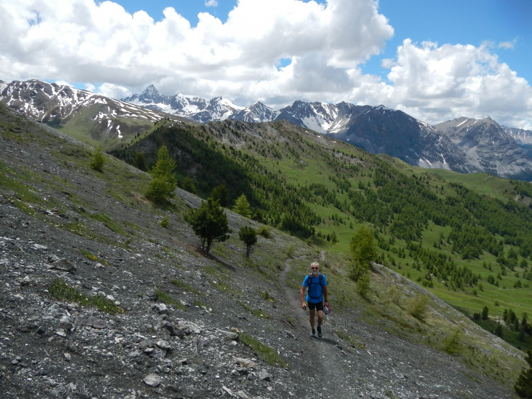 tratto finale per il Monte Corbioun
