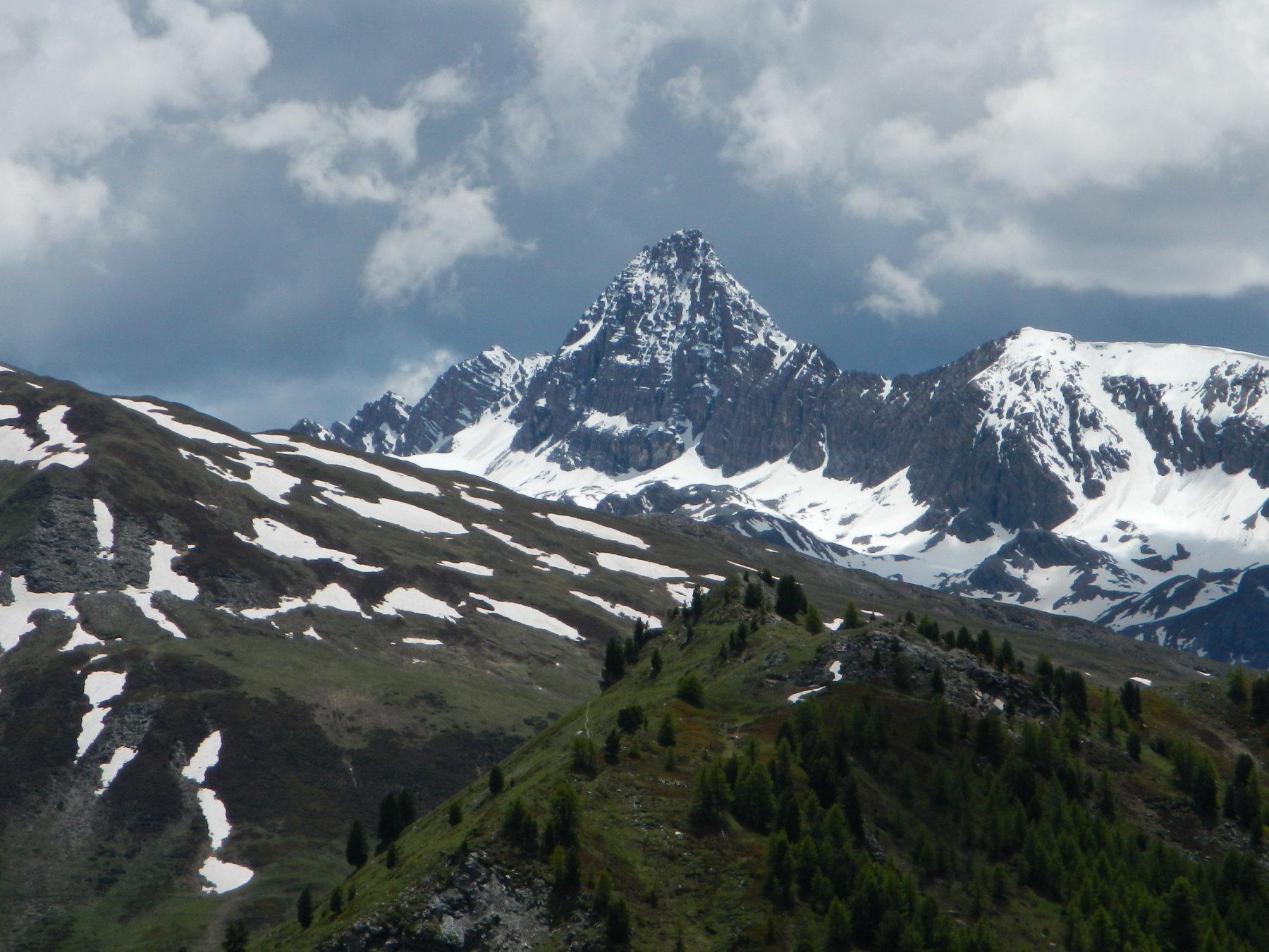 bella vista sul Pic de Rochebrune