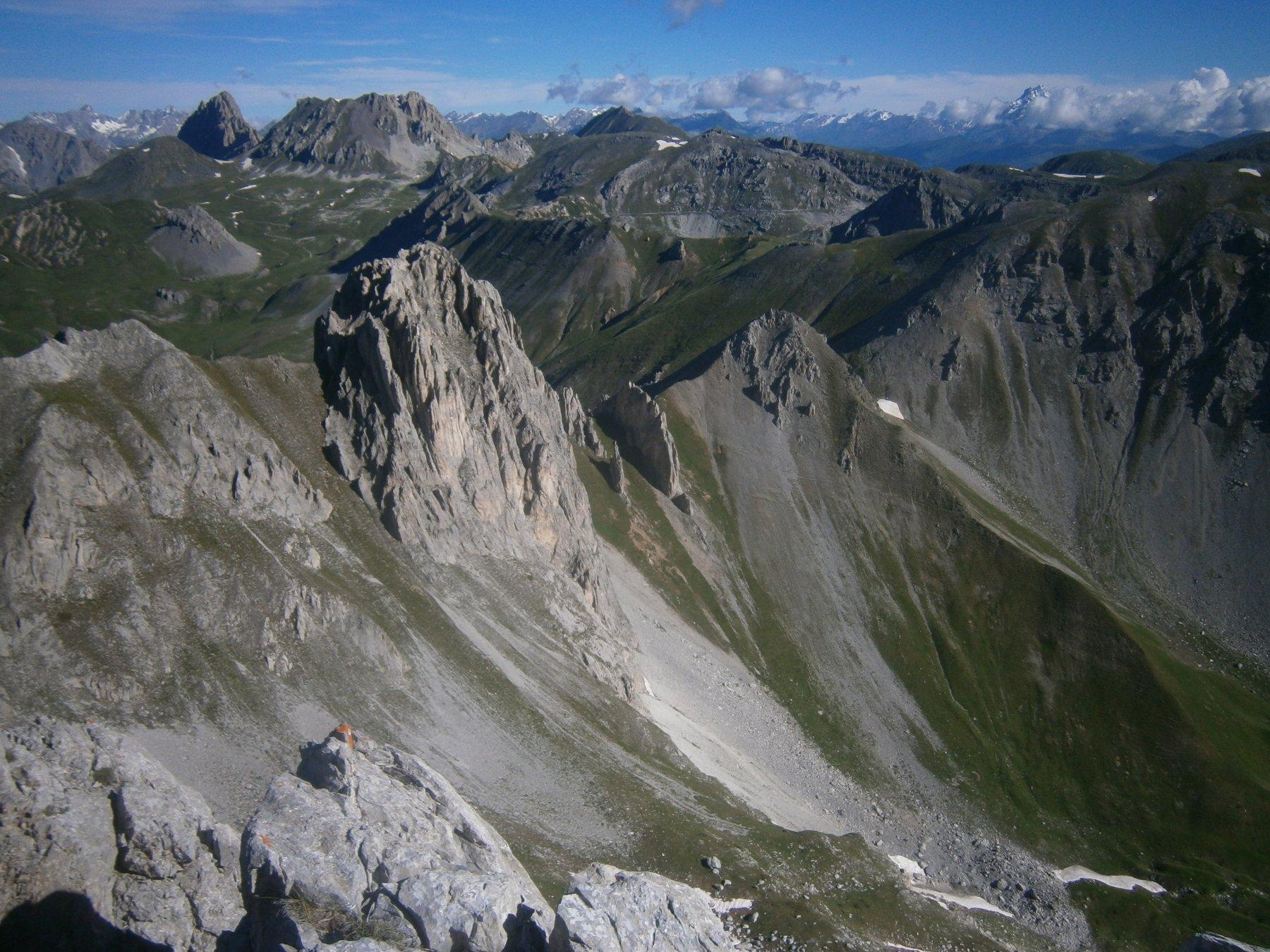 Rocca di Salè, Doi Omi e rocca del Mes