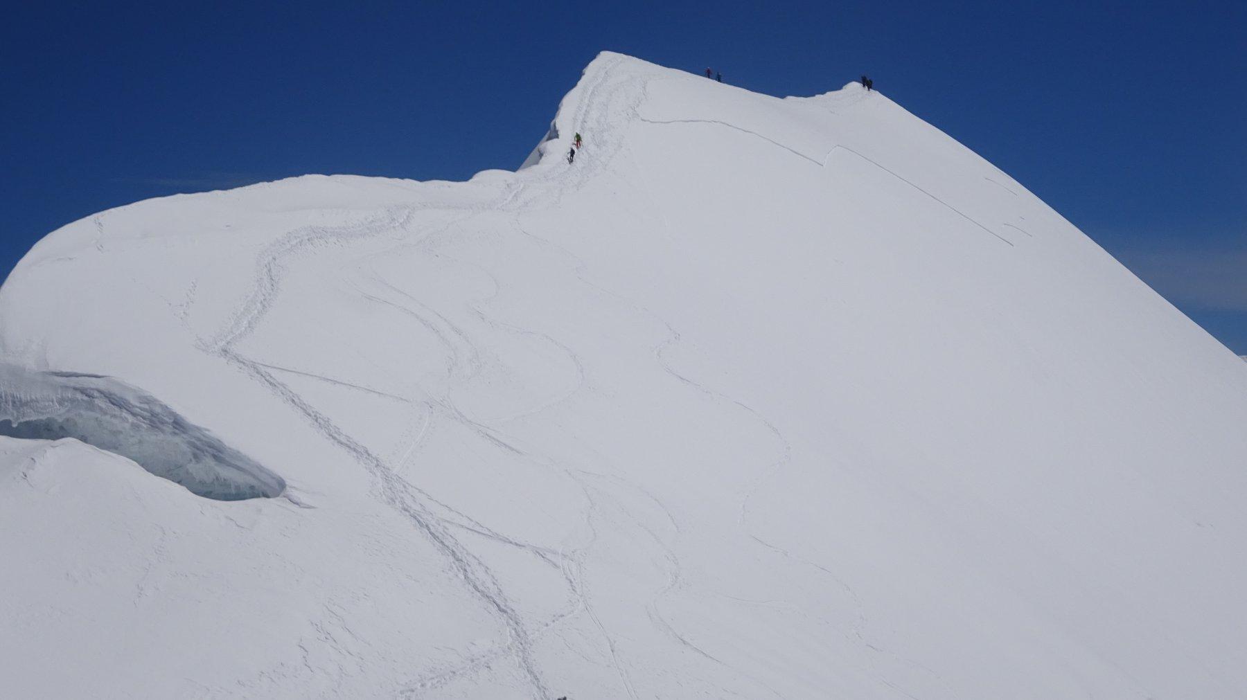 Breithorn centrale dalla Sella quota 4.075 m