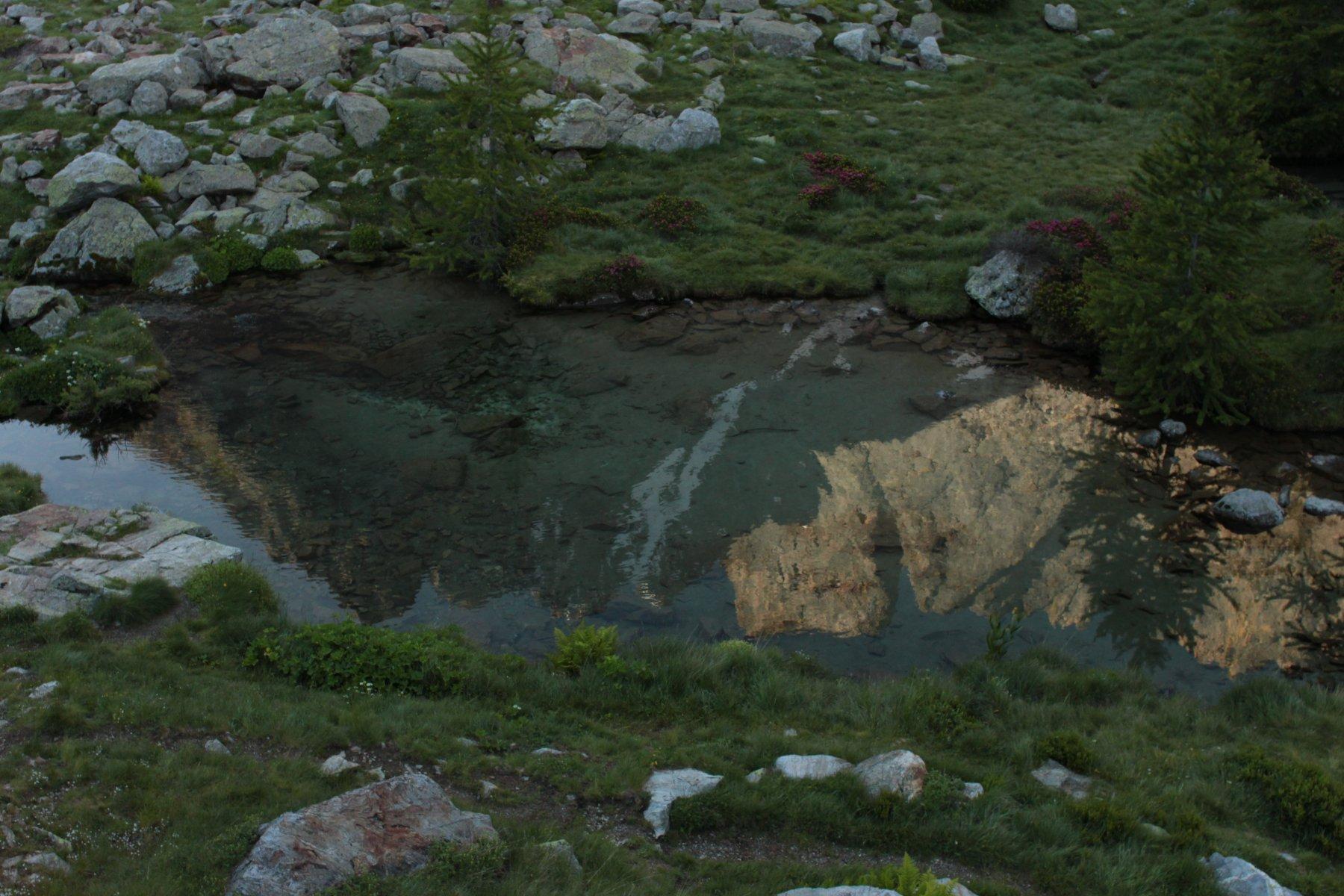 Il canale dal Lagarot di Lourousa