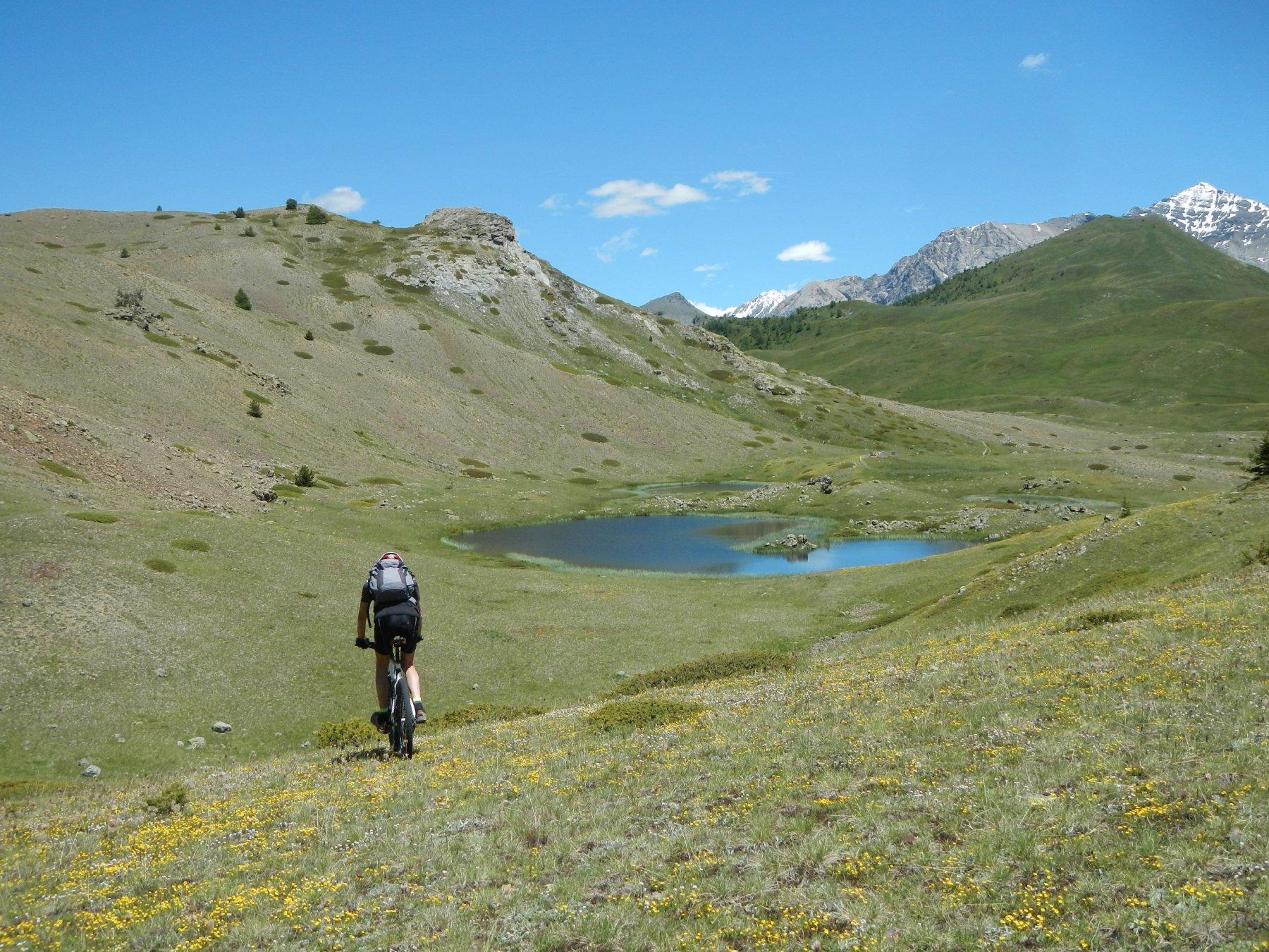 verso il Col Bourget