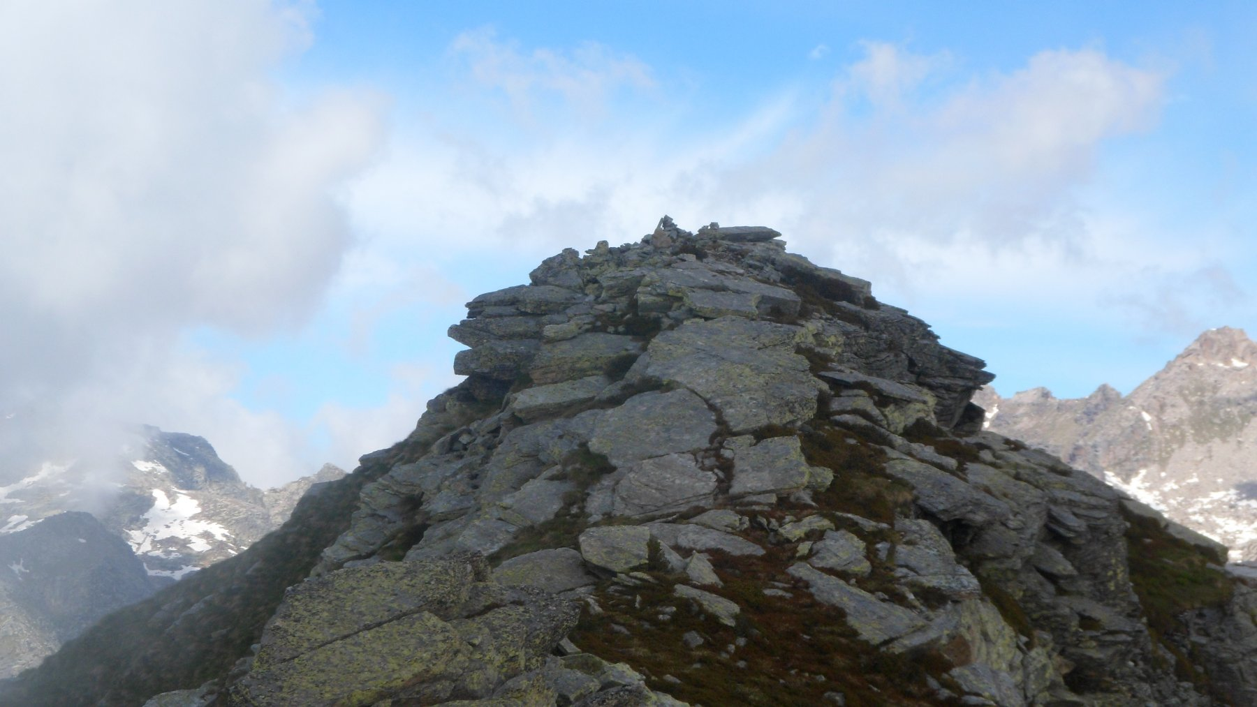 Punta Pian Spigo dalla cima vicina