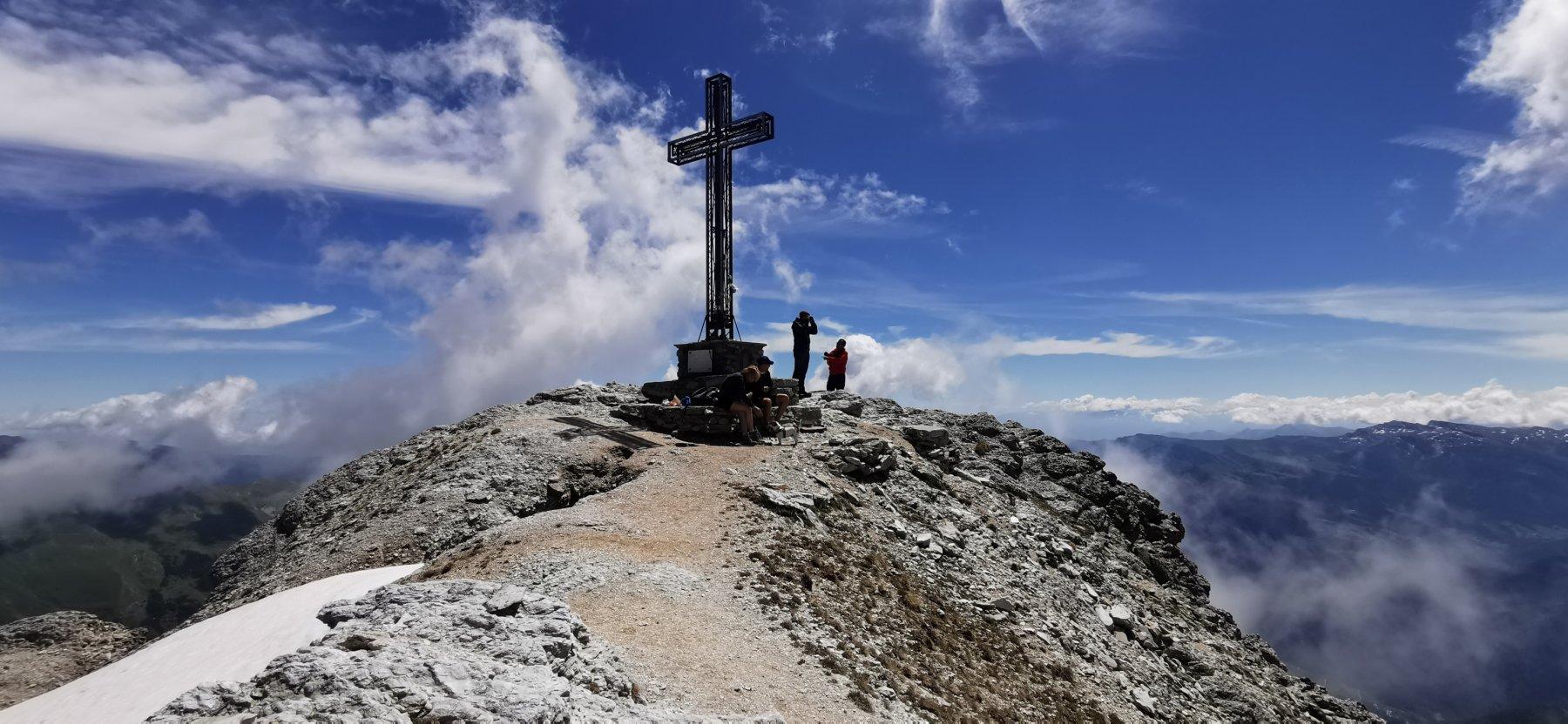 la vetta del Monte Chersogno