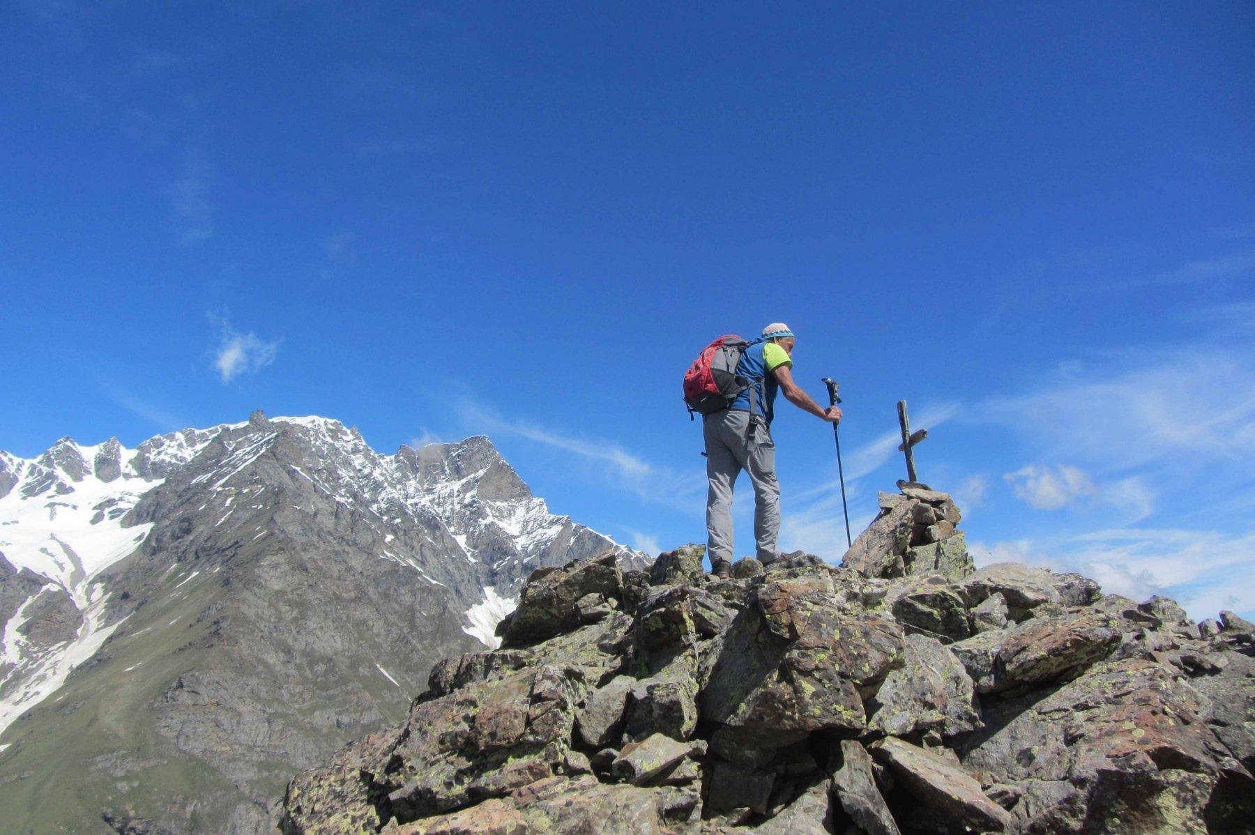 Arrivo in punta m. Cornet 2578 m.