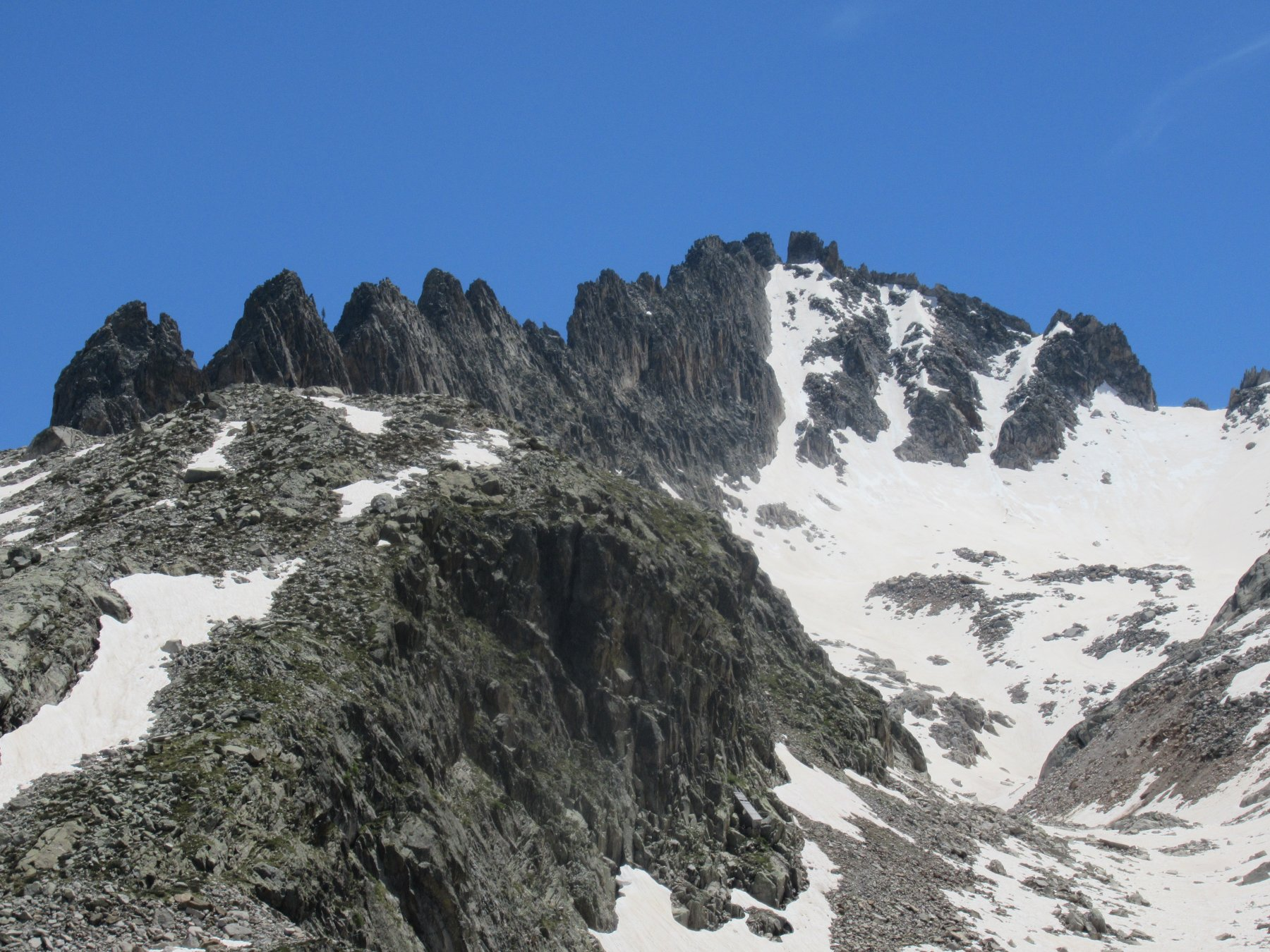 Cresta Savoia, Caire de Prefouns e canale.