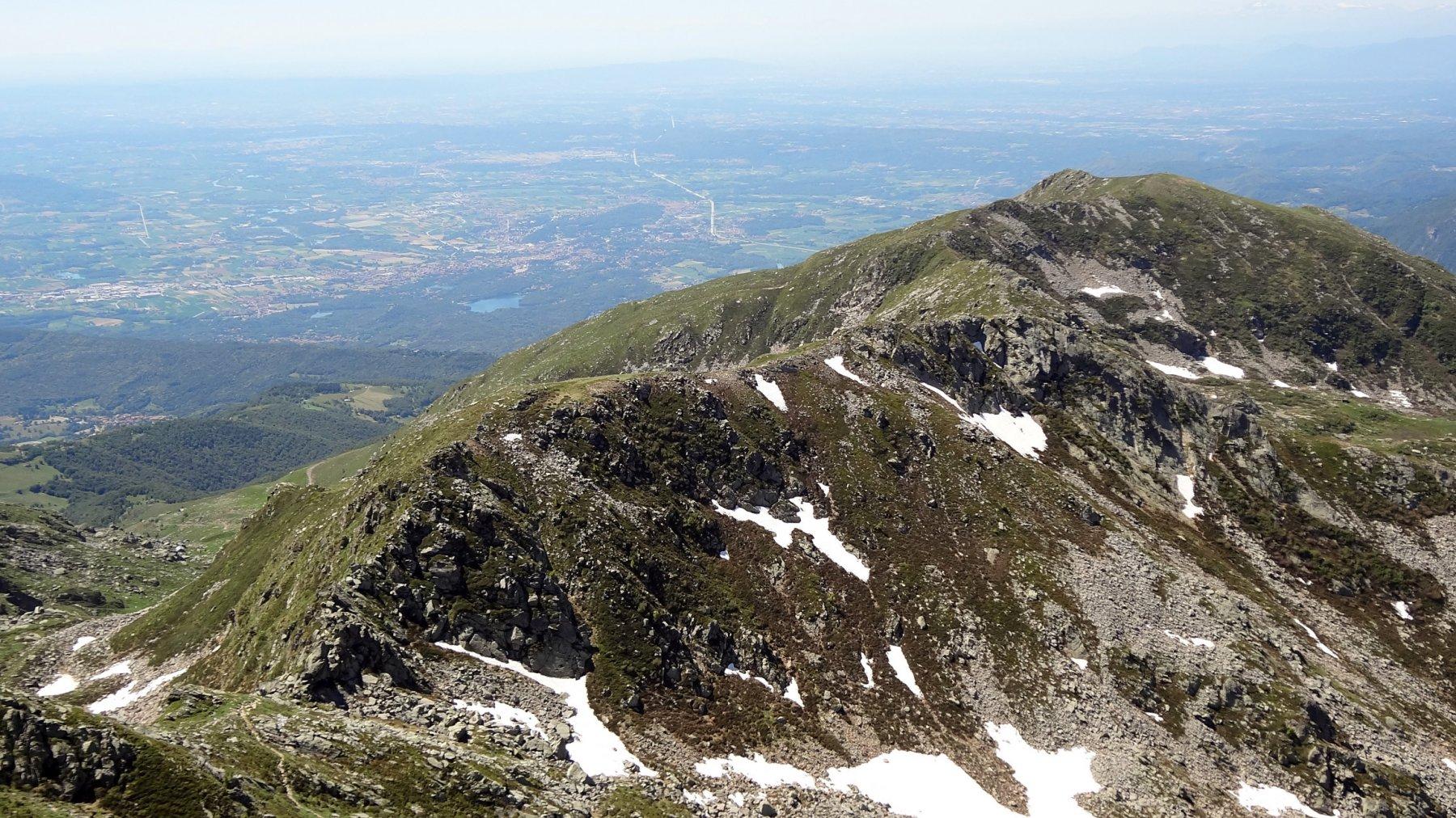 La cresta dalla Torretta alla Bocchetta