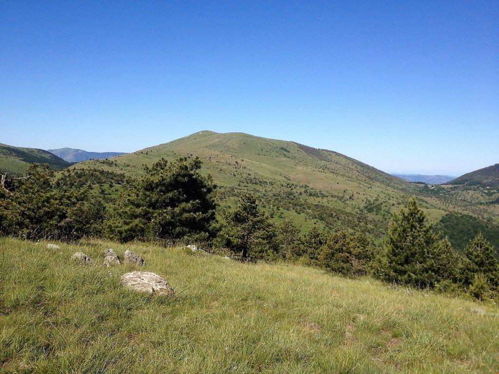 IL Poggio visto dal monte Moro.