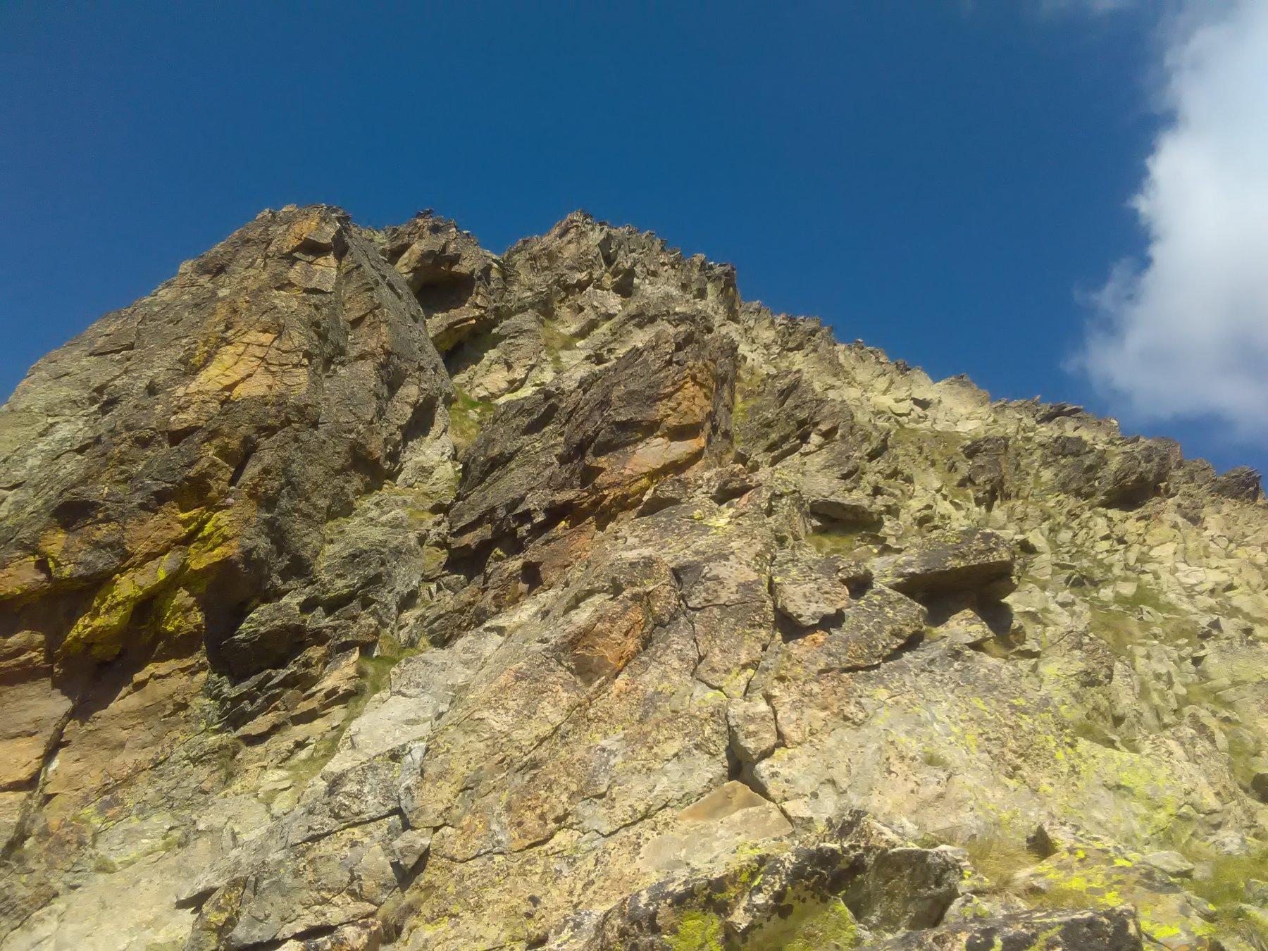 La cima dalla cresta