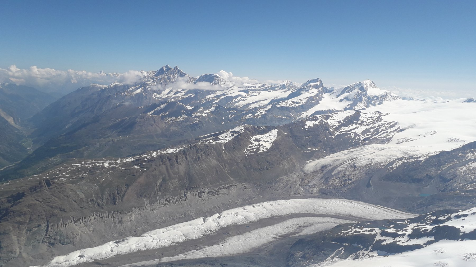 Panorama al top