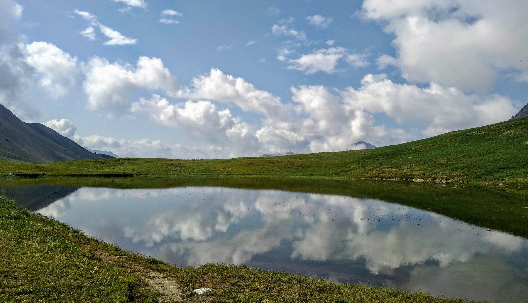 il lago al col de Thures