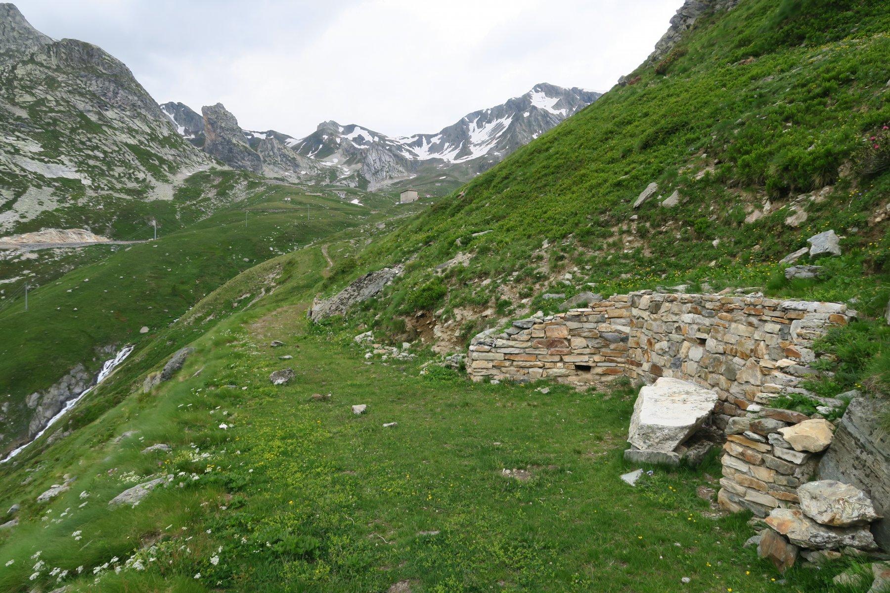 il sentiero che da Fonteinte ci riporterà a Plan Puitz