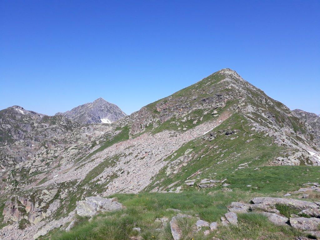 Monte Camino - Cresta Est: fine delle difficoltà