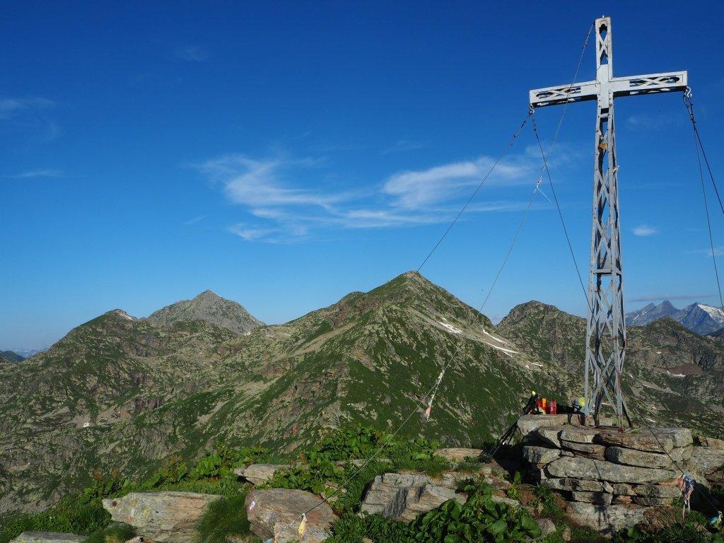 Monte Tovo - Panorama verso il Monte Camino
