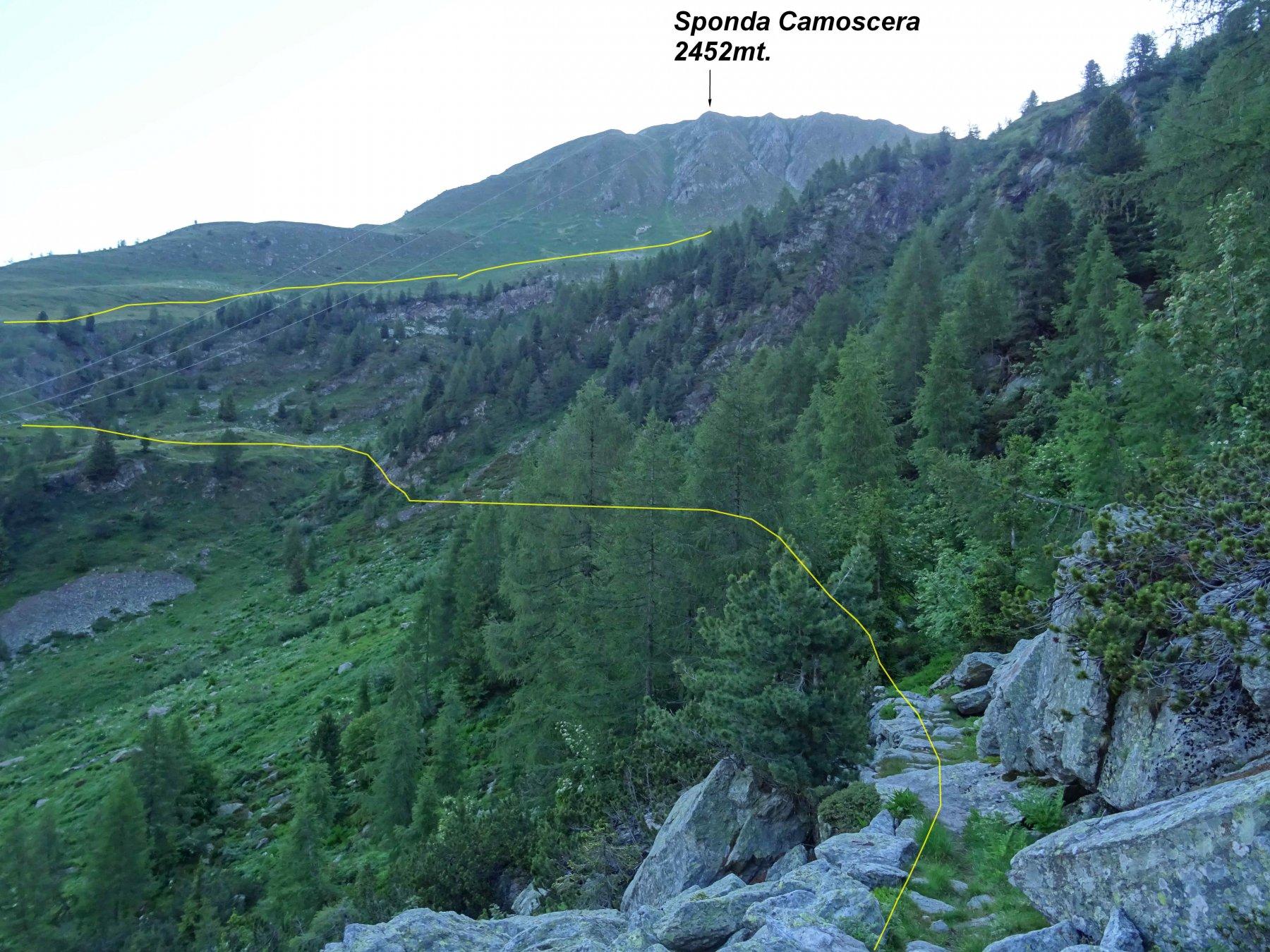 Sul Sentiero Bruno Credaro in Val Madre.