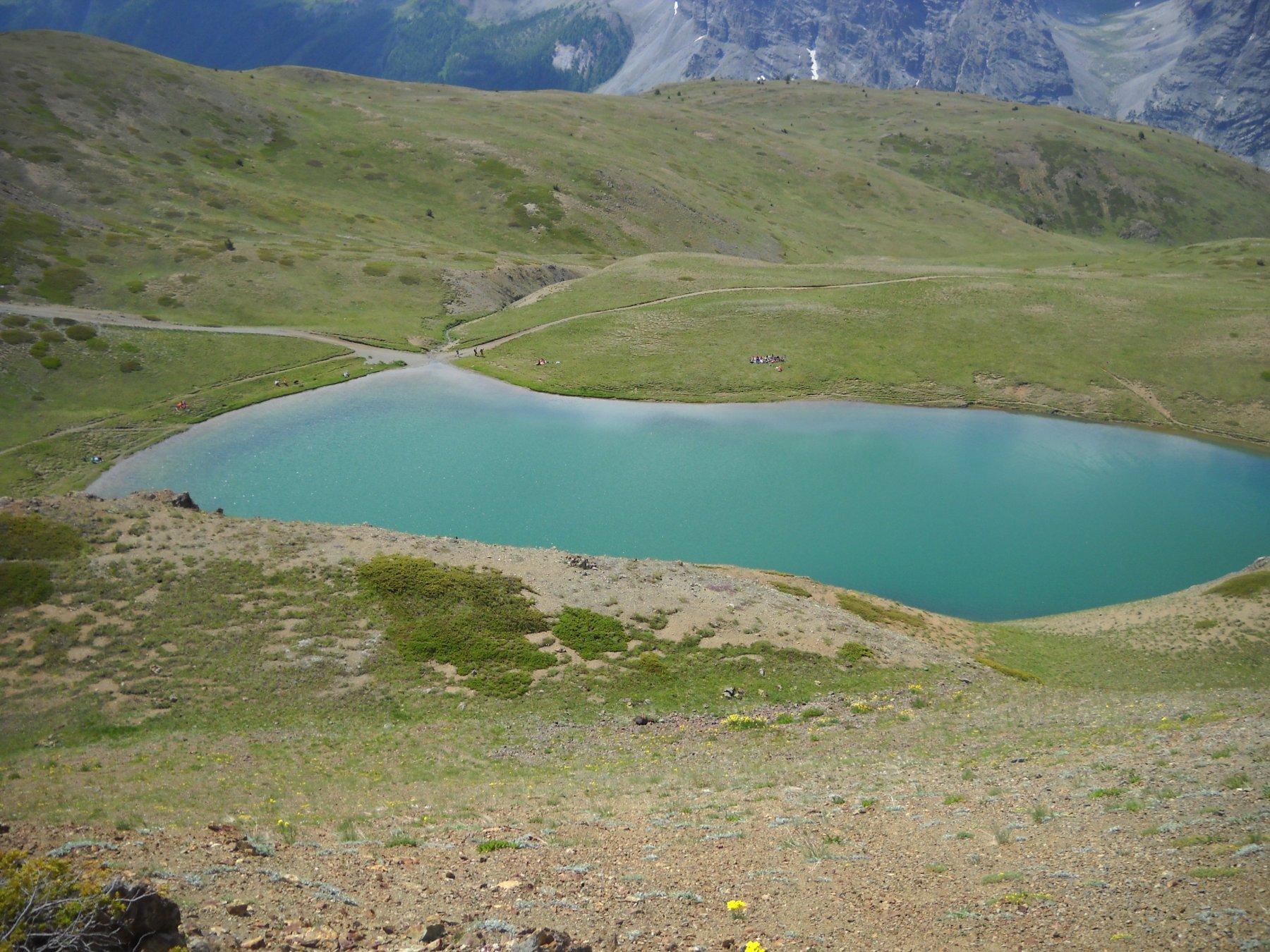 lago sette colori dal col Gimot