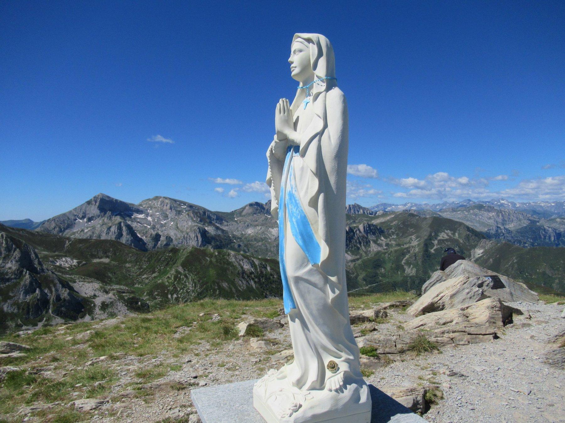 Madonnina sul Mondolè