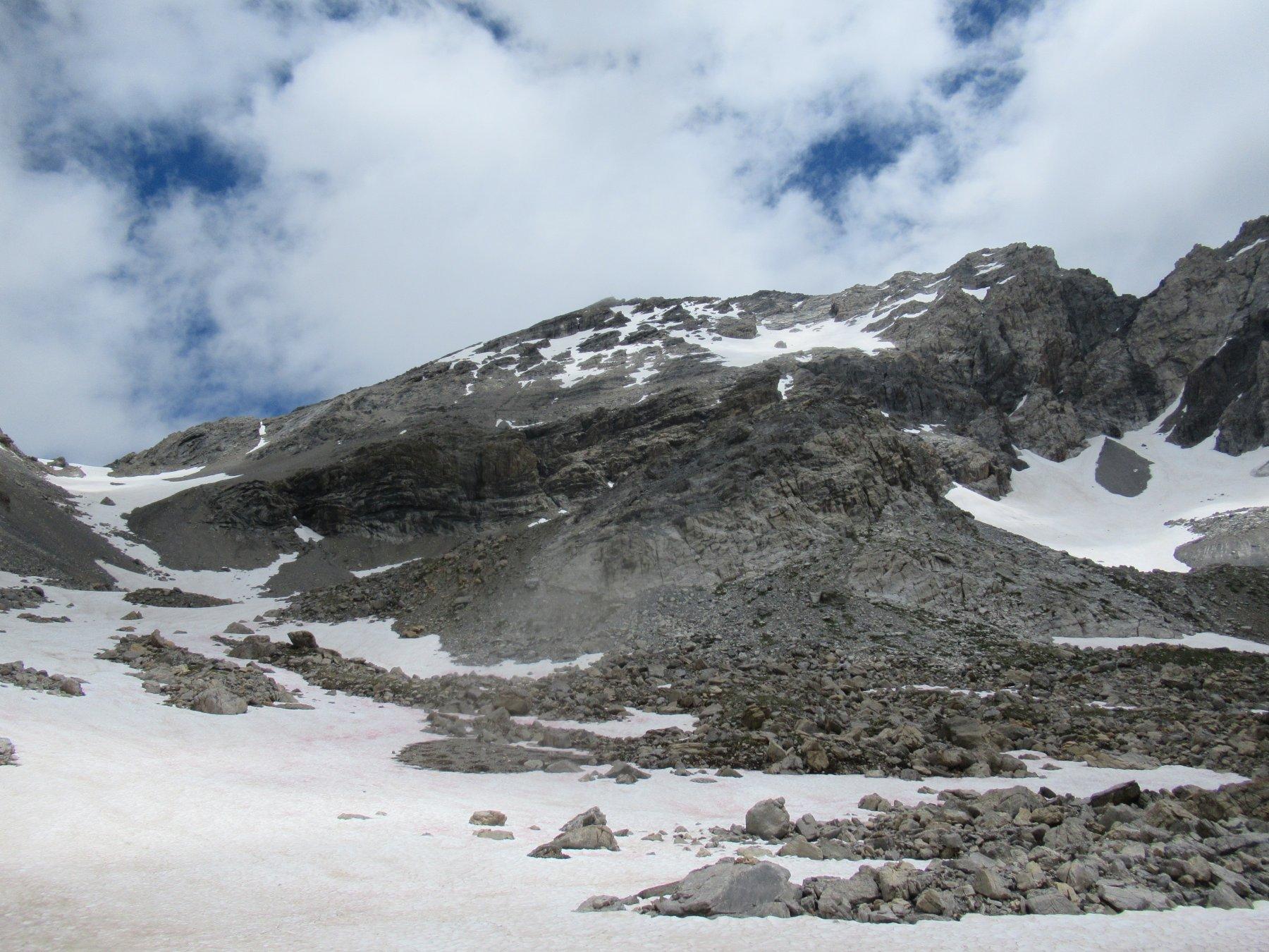Monte Sautron dal versante Francese.