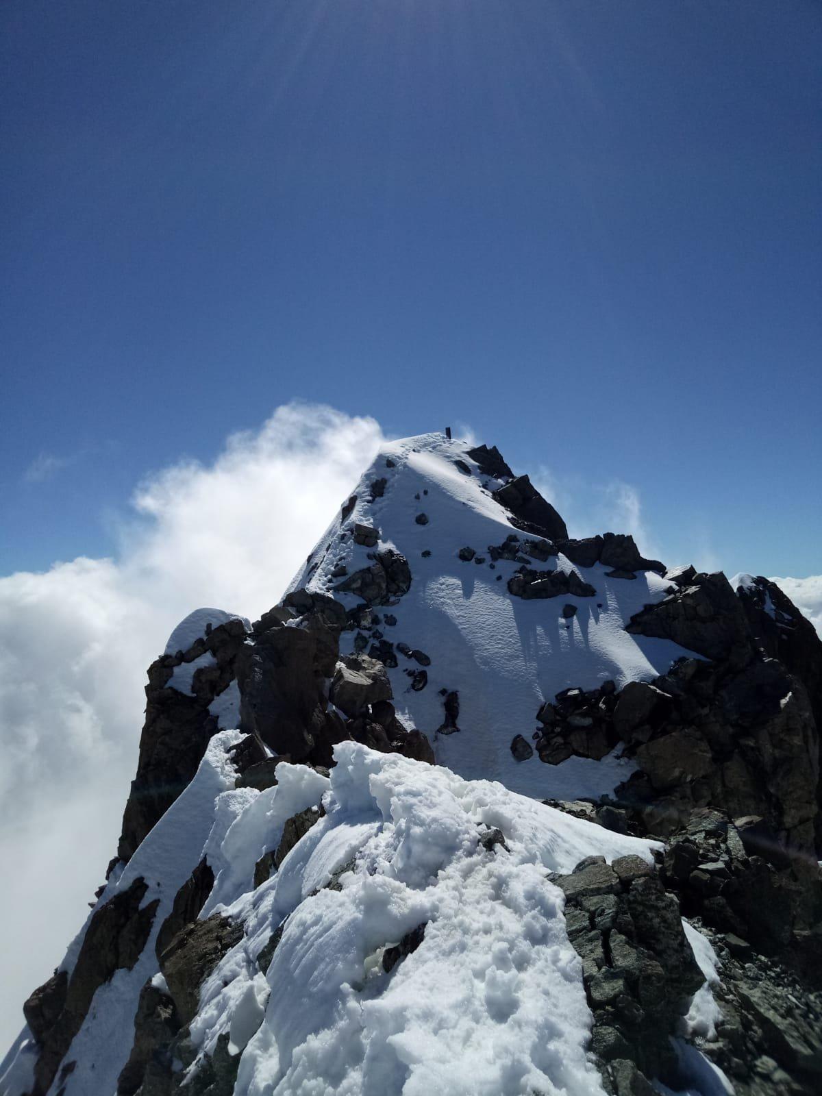 Disgrazia (Monte) Via Normale della Cresta O/NO (Cresta di Pioda) 2020-06-30