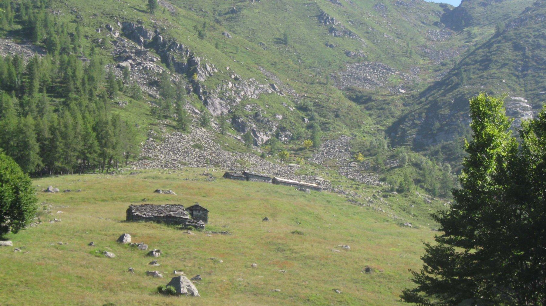 alpe d'Attia 1741 m.