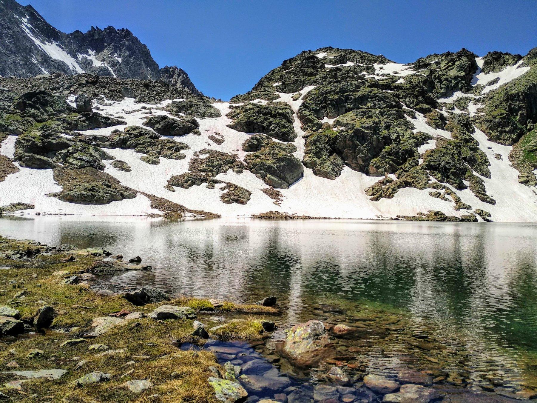 il lago mediano di lussert