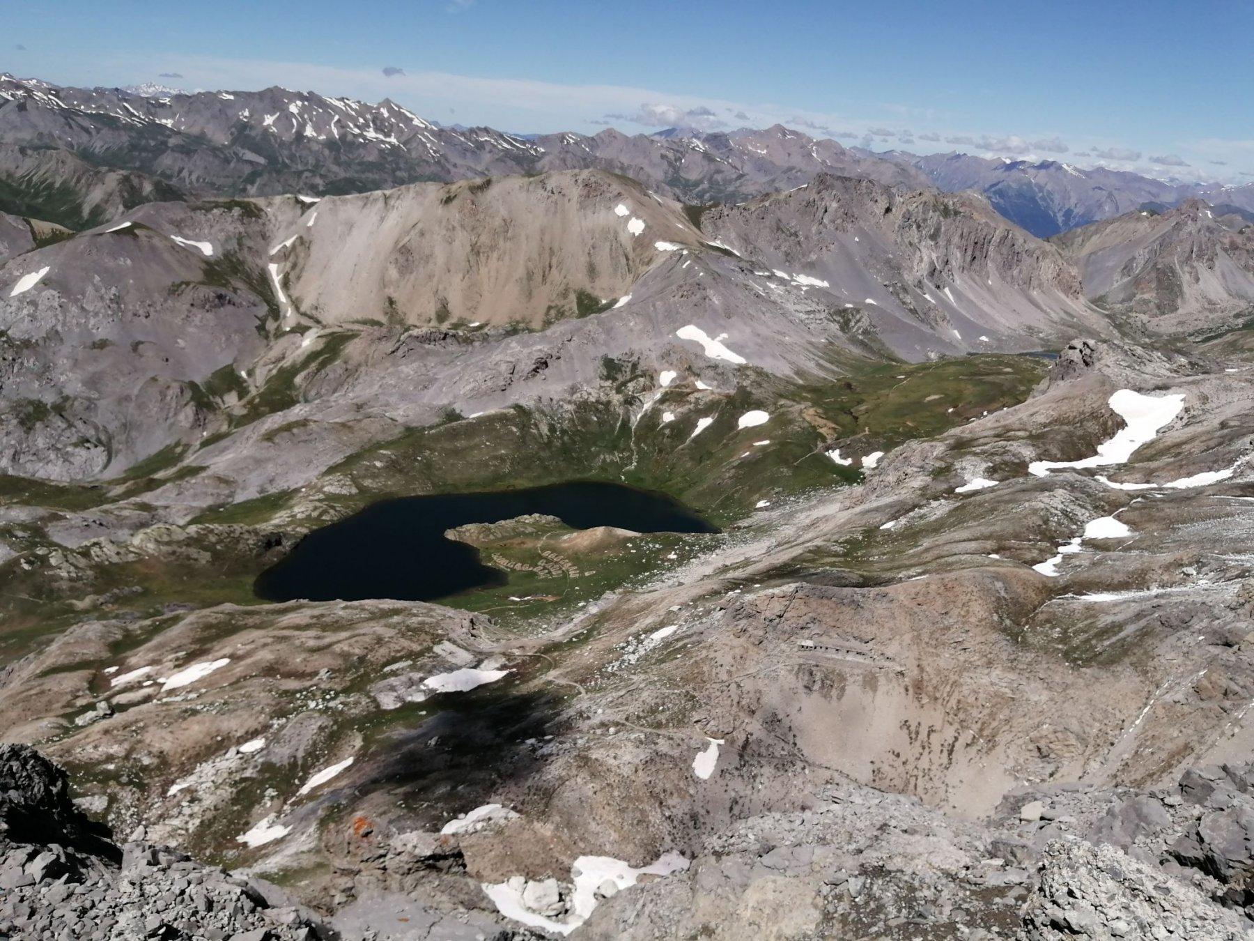 Lago superiore dalla vetta